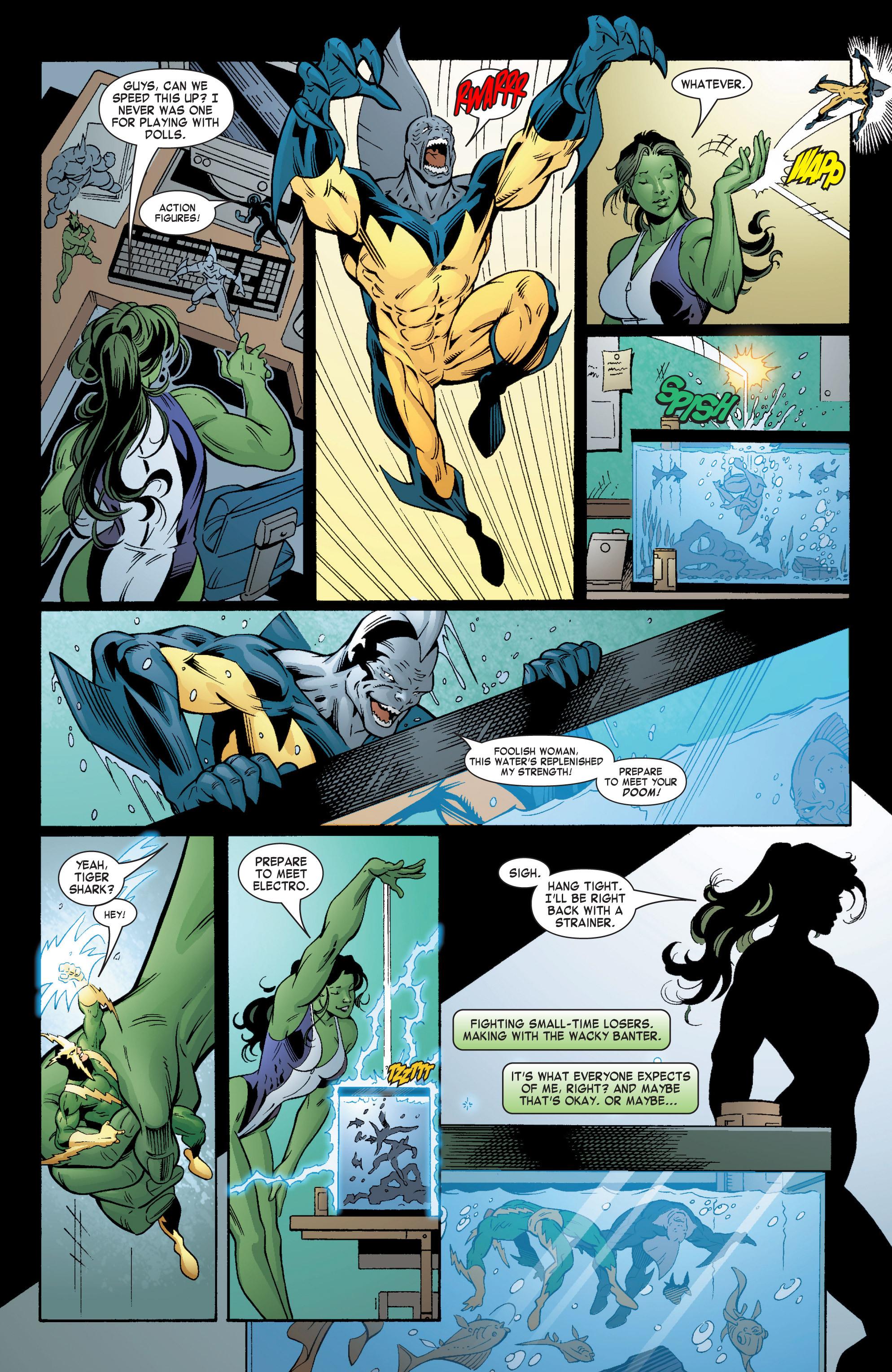 Read online She-Hulk (2004) comic -  Issue #6 - 12