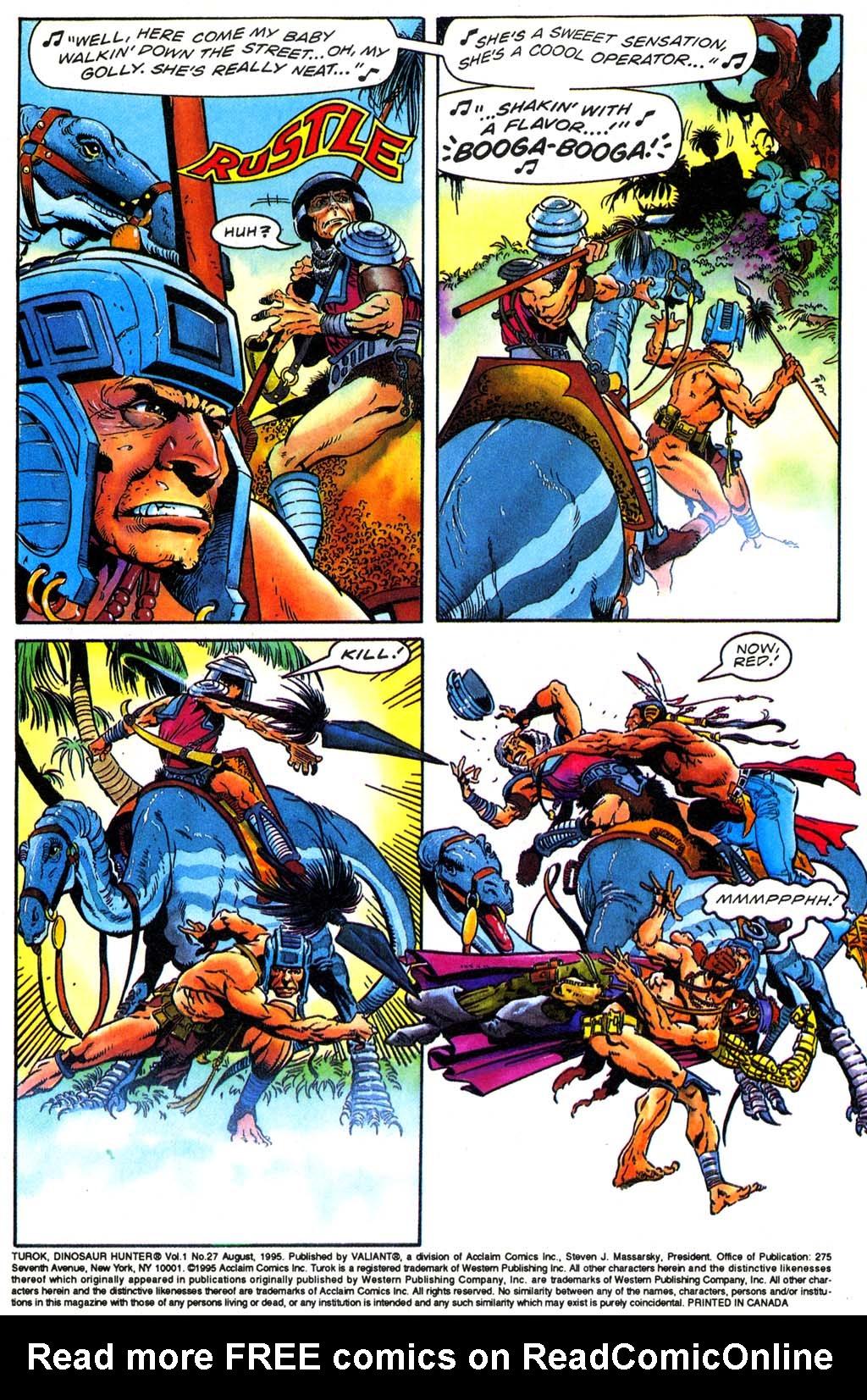Read online Turok, Dinosaur Hunter (1993) comic -  Issue #27 - 3