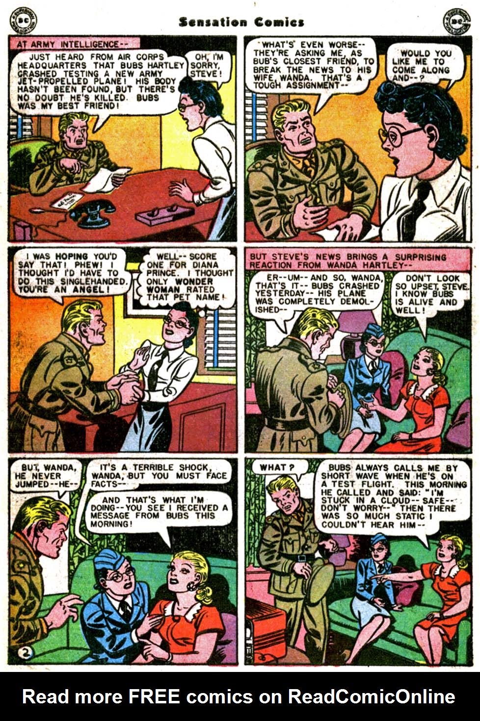 Read online Sensation (Mystery) Comics comic -  Issue #64 - 4