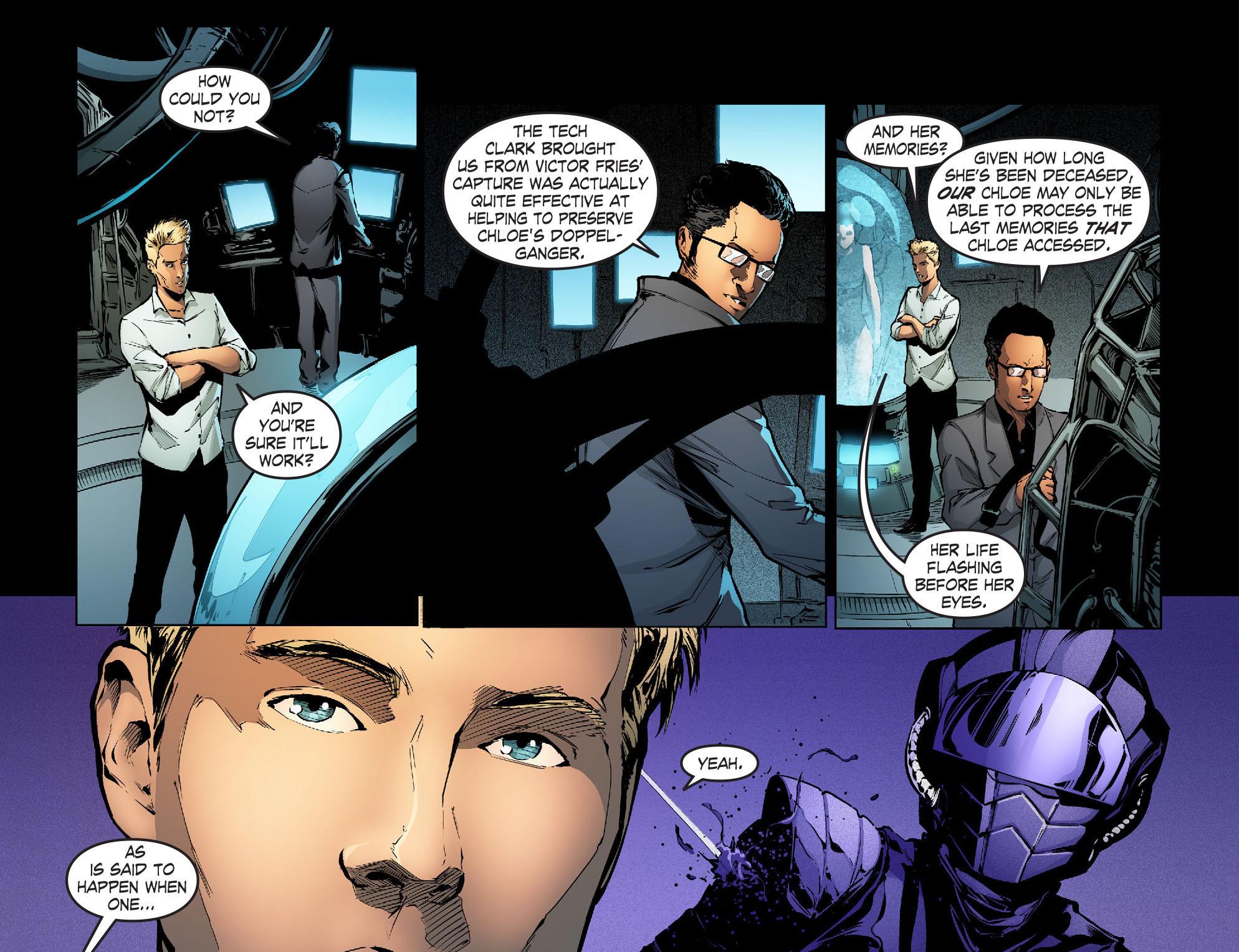 Read online Smallville: Season 11 comic -  Issue #31 - 11