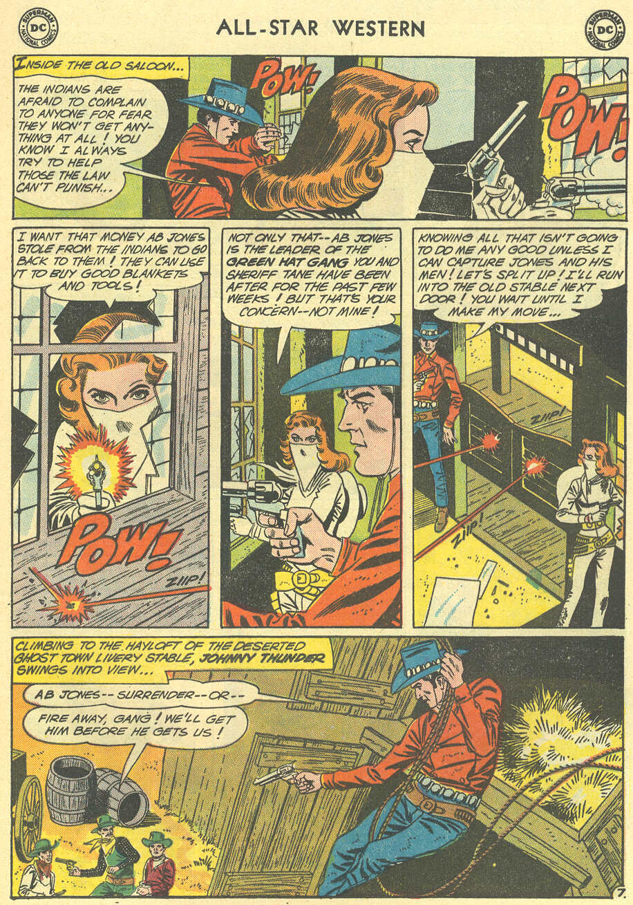 Read online All-Star Western (1951) comic -  Issue #119 - 9