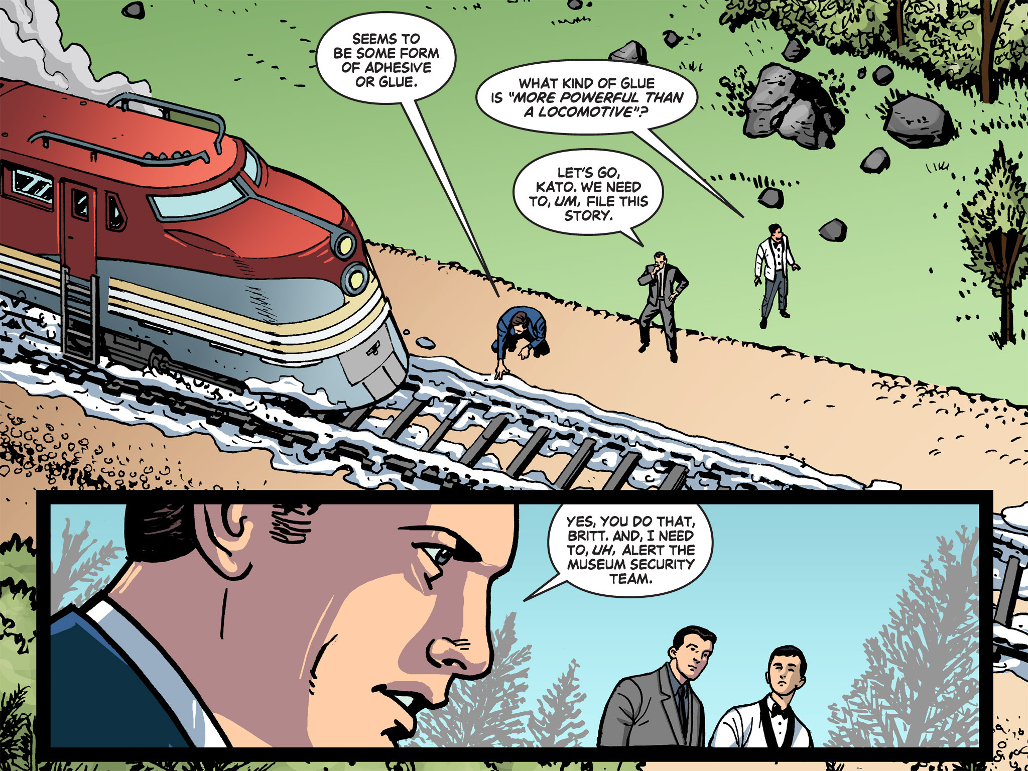 Read online Batman '66 Meets the Green Hornet [II] comic -  Issue #1 - 78