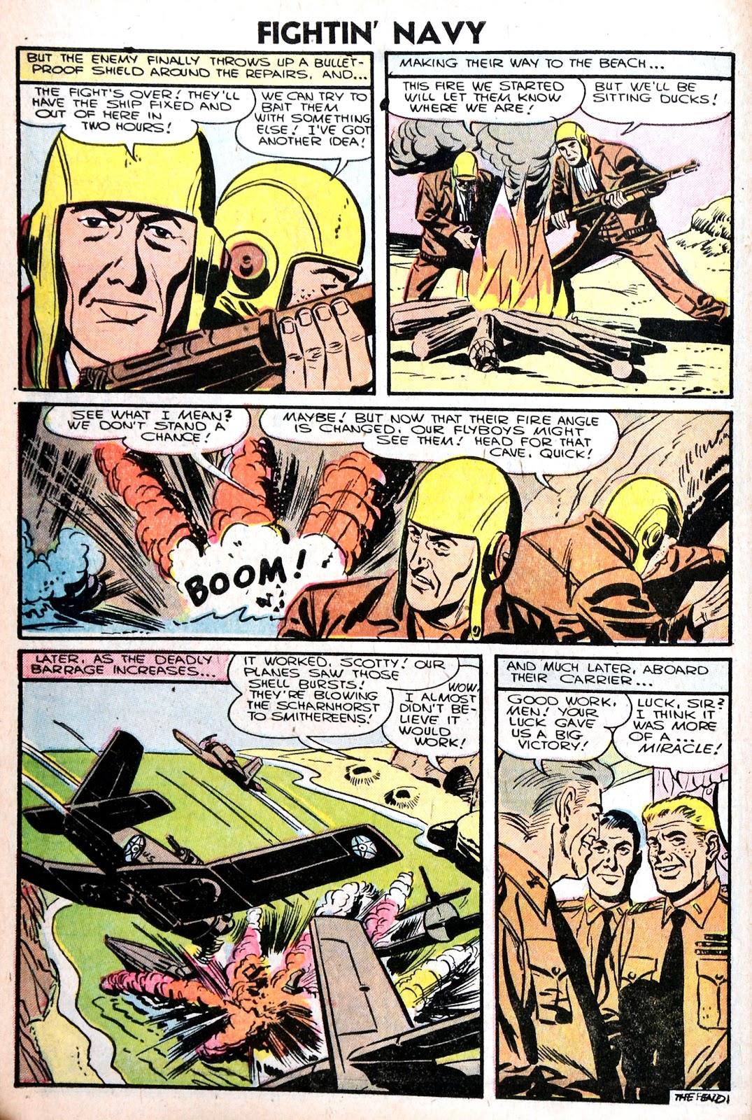 Read online Fightin' Navy comic -  Issue #75 - 10