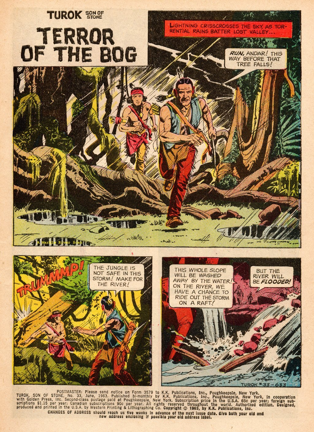 Read online Turok, Son of Stone comic -  Issue #33 - 3