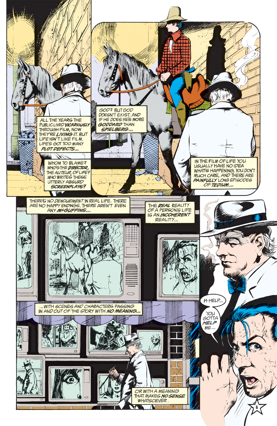Read online Shade, the Changing Man comic -  Issue #6 - 8