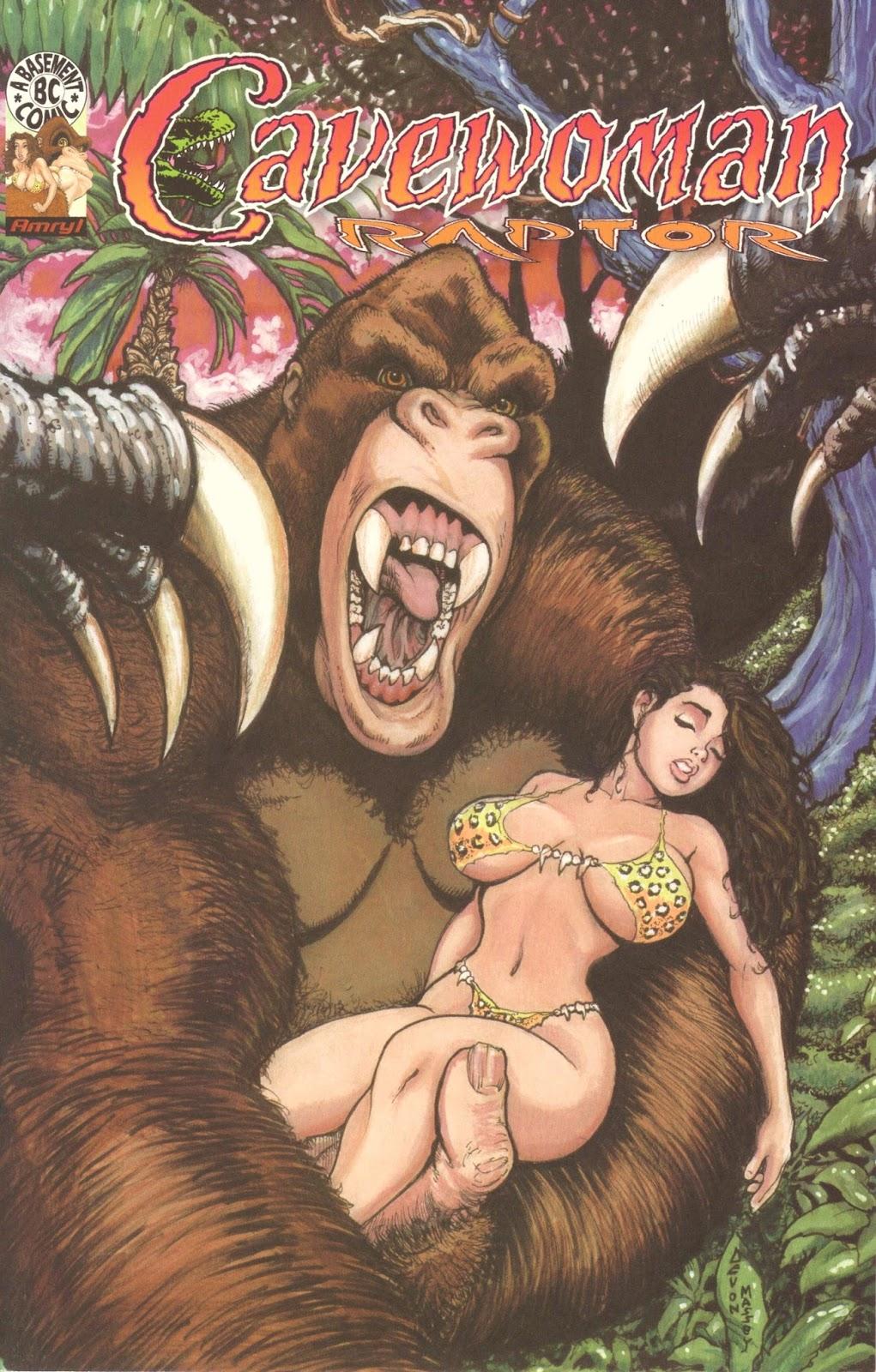 Cavewoman: Raptor 2 Page 1