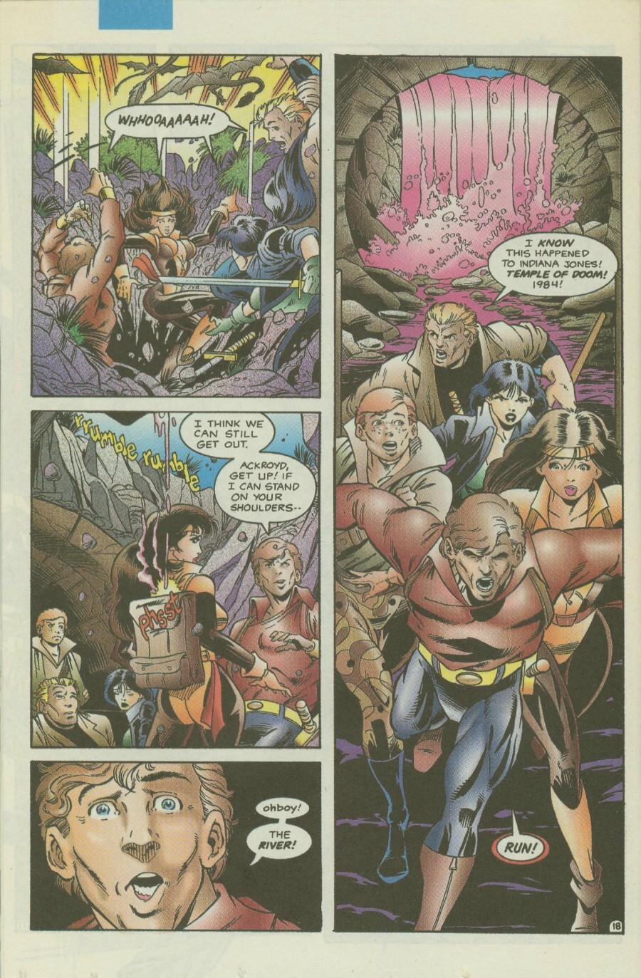 Read online Ex-Mutants comic -  Issue #4 - 21