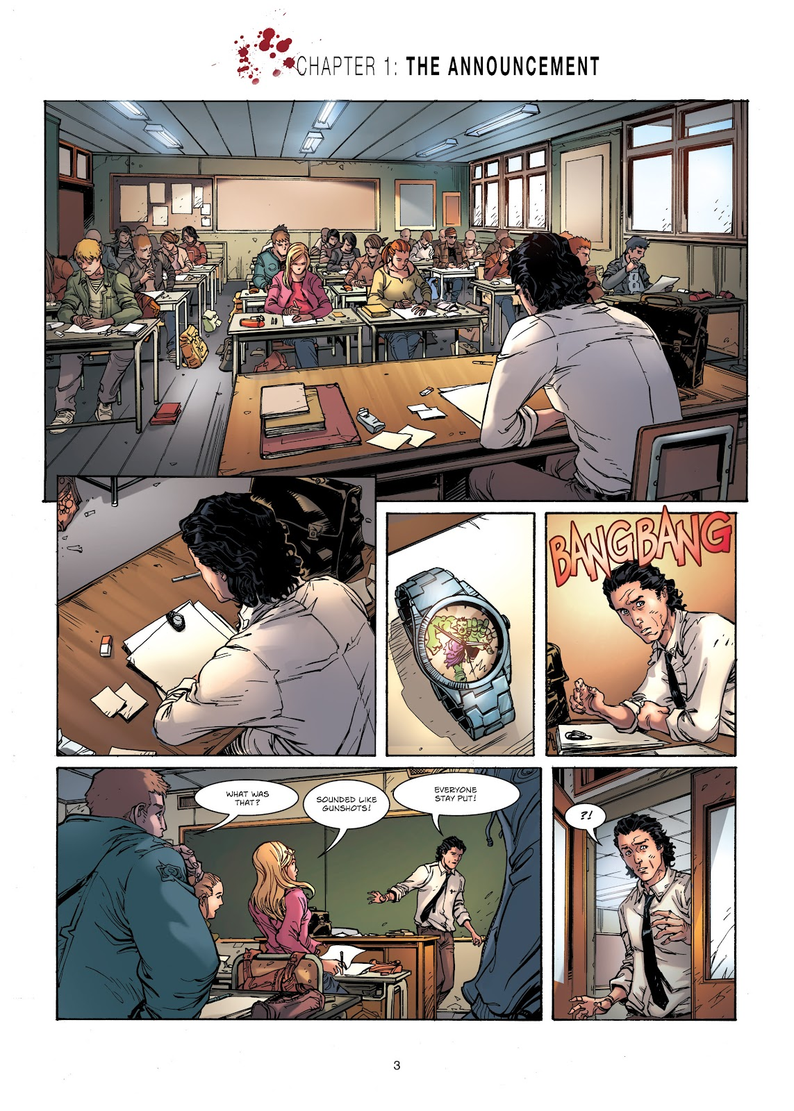 Read online Vigilantes comic -  Issue #1 - 3