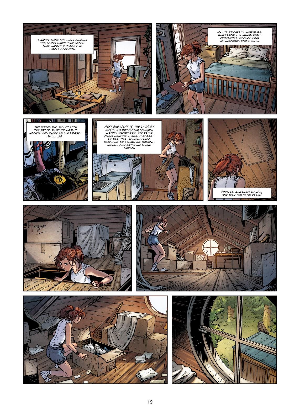 Read online Vigilantes comic -  Issue #3 - 19