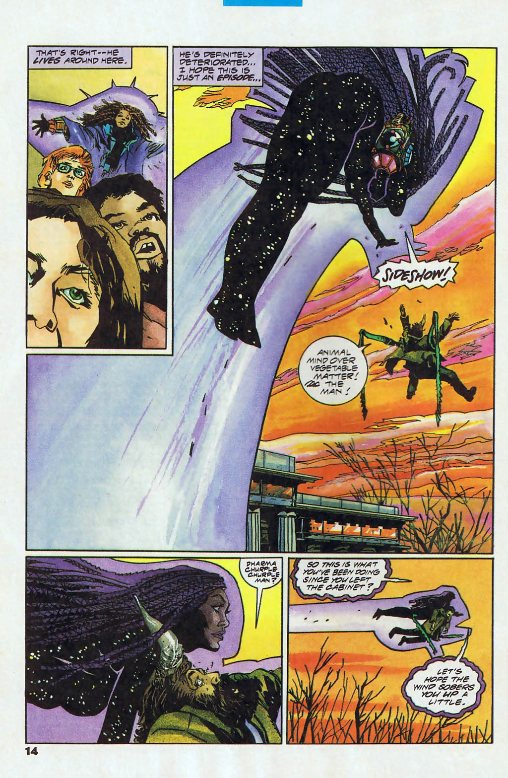 Read online Shadow Cabinet comic -  Issue #13 - 10