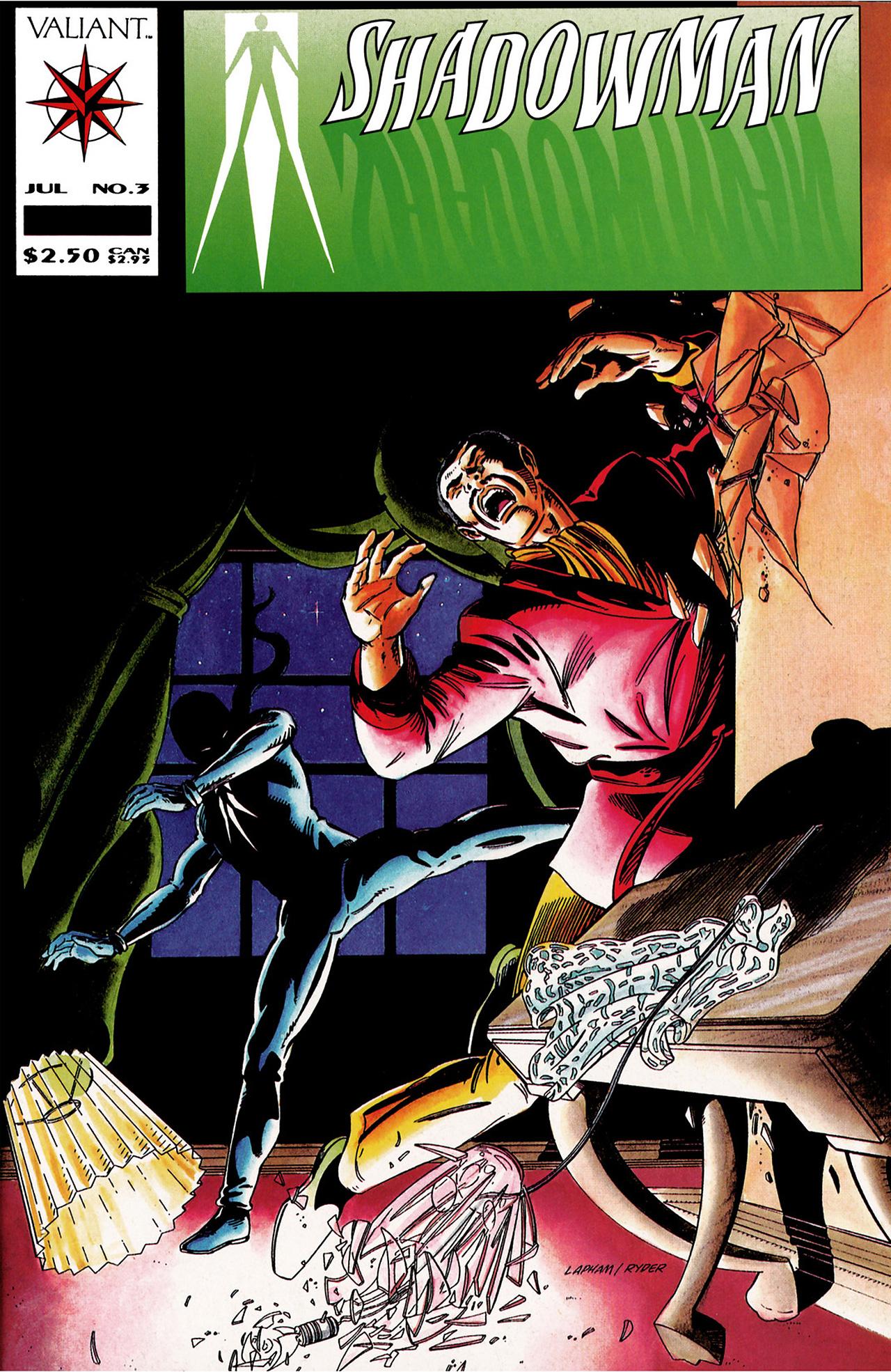 Read online Shadowman (1992) comic -  Issue #3 - 1