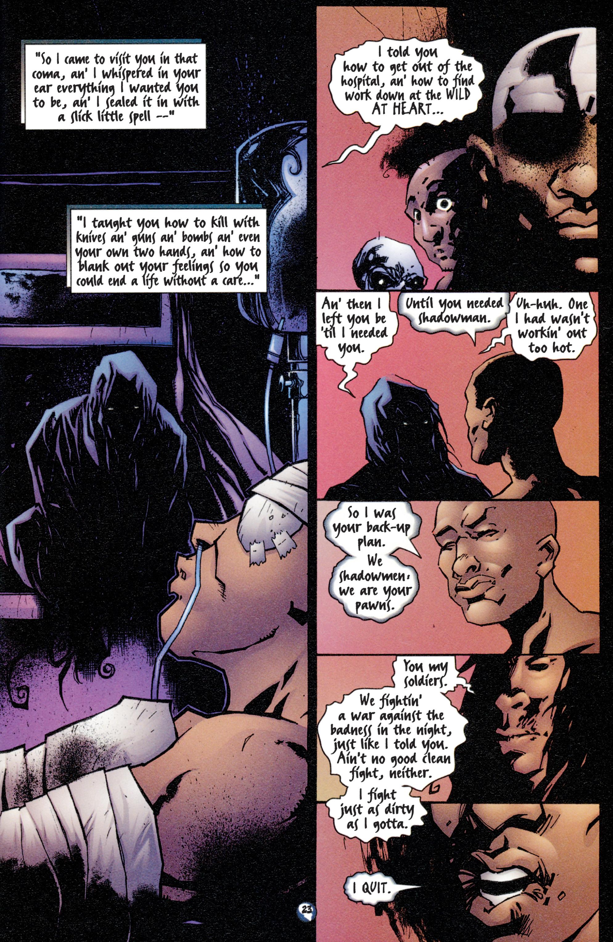 Read online Shadowman (1997) comic -  Issue #4 - 19