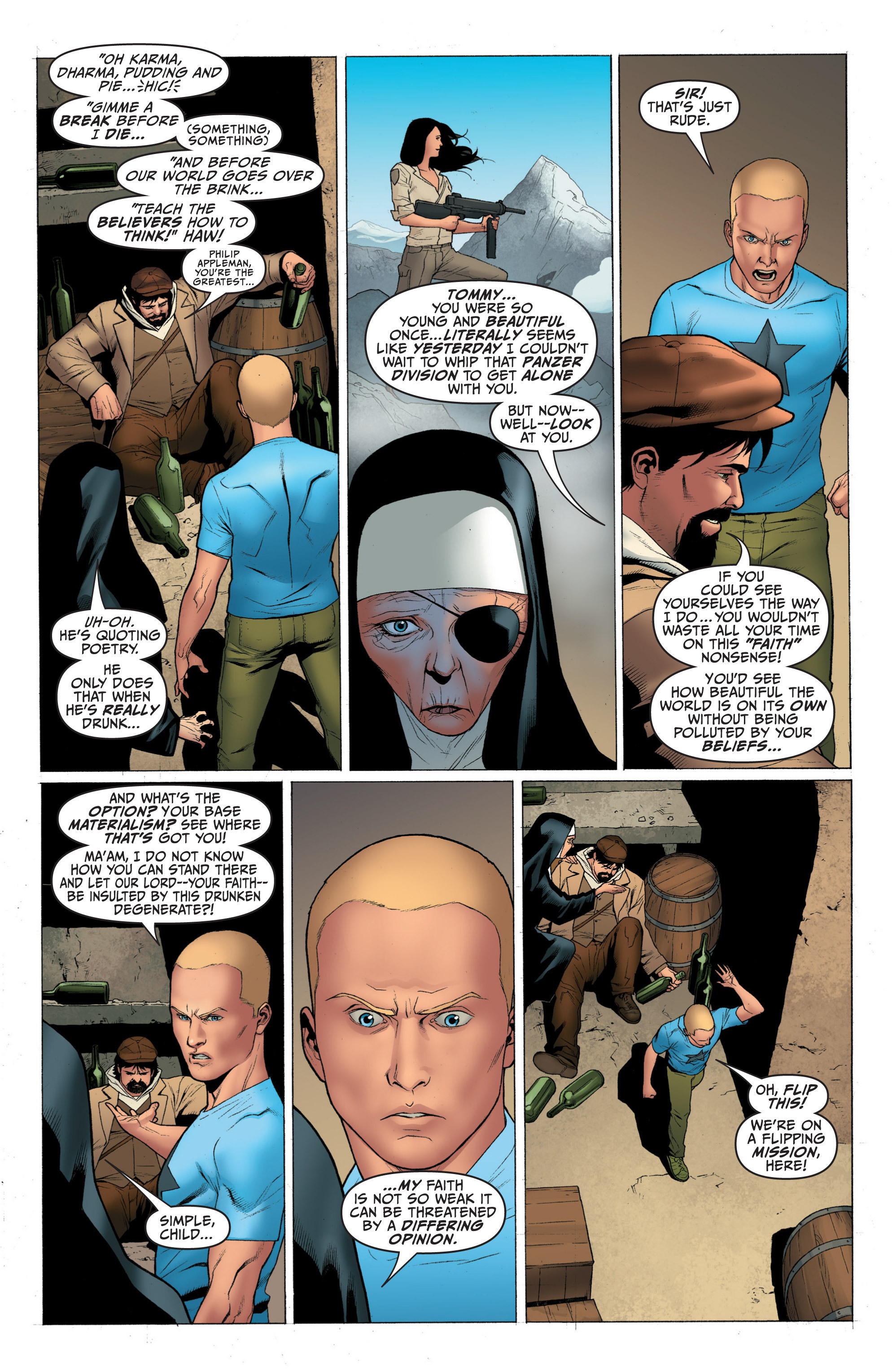 Read online Archer and Armstrong comic -  Issue #3 - 11