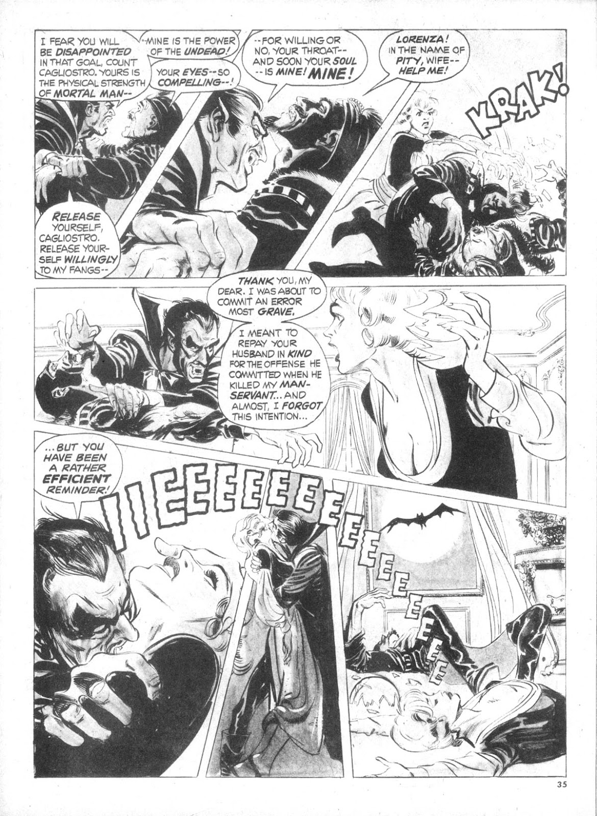 Dracula Lives issue 5 - Page 33