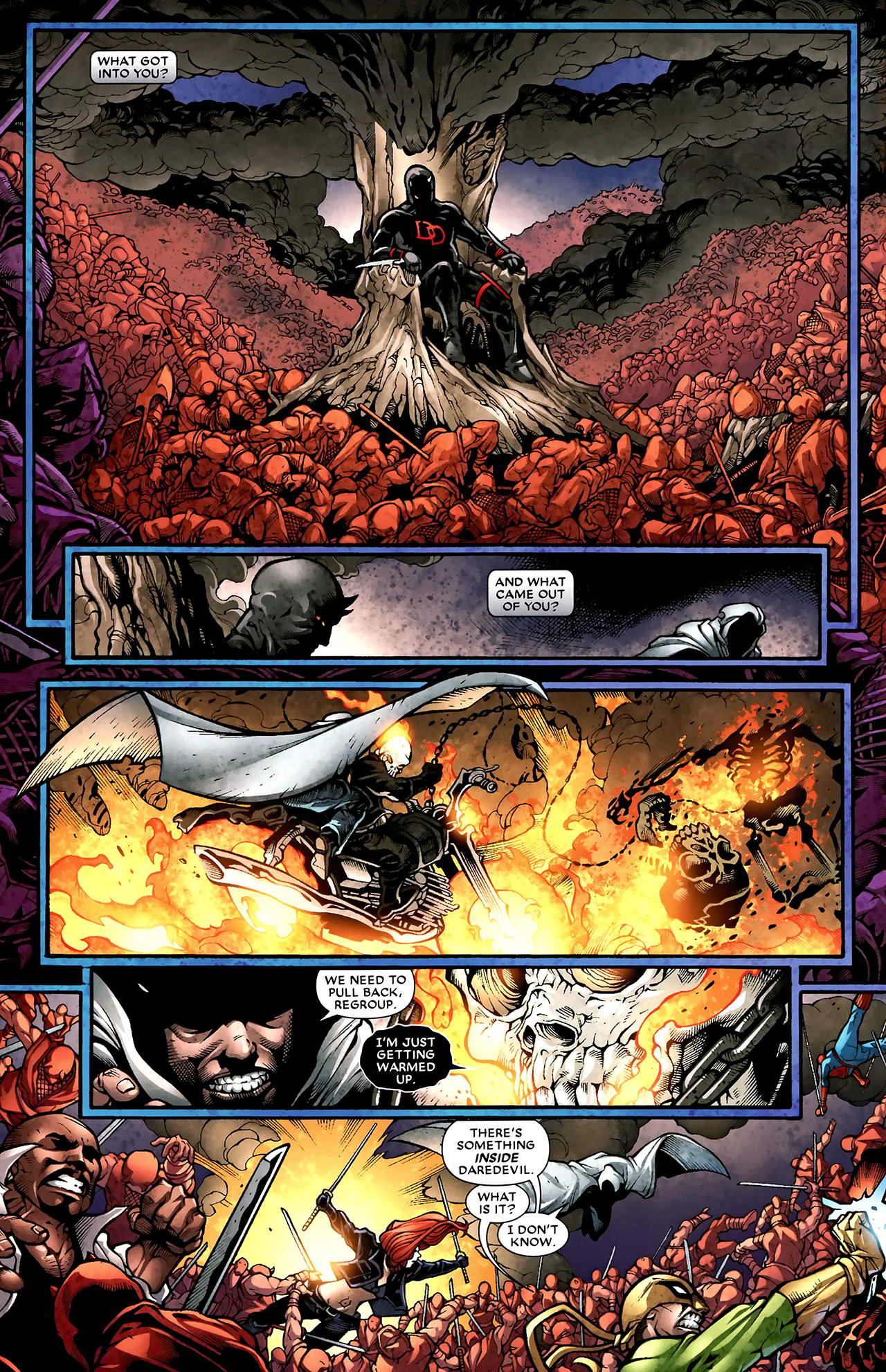 Read online Shadowland: Moon Knight comic -  Issue #2 - 10