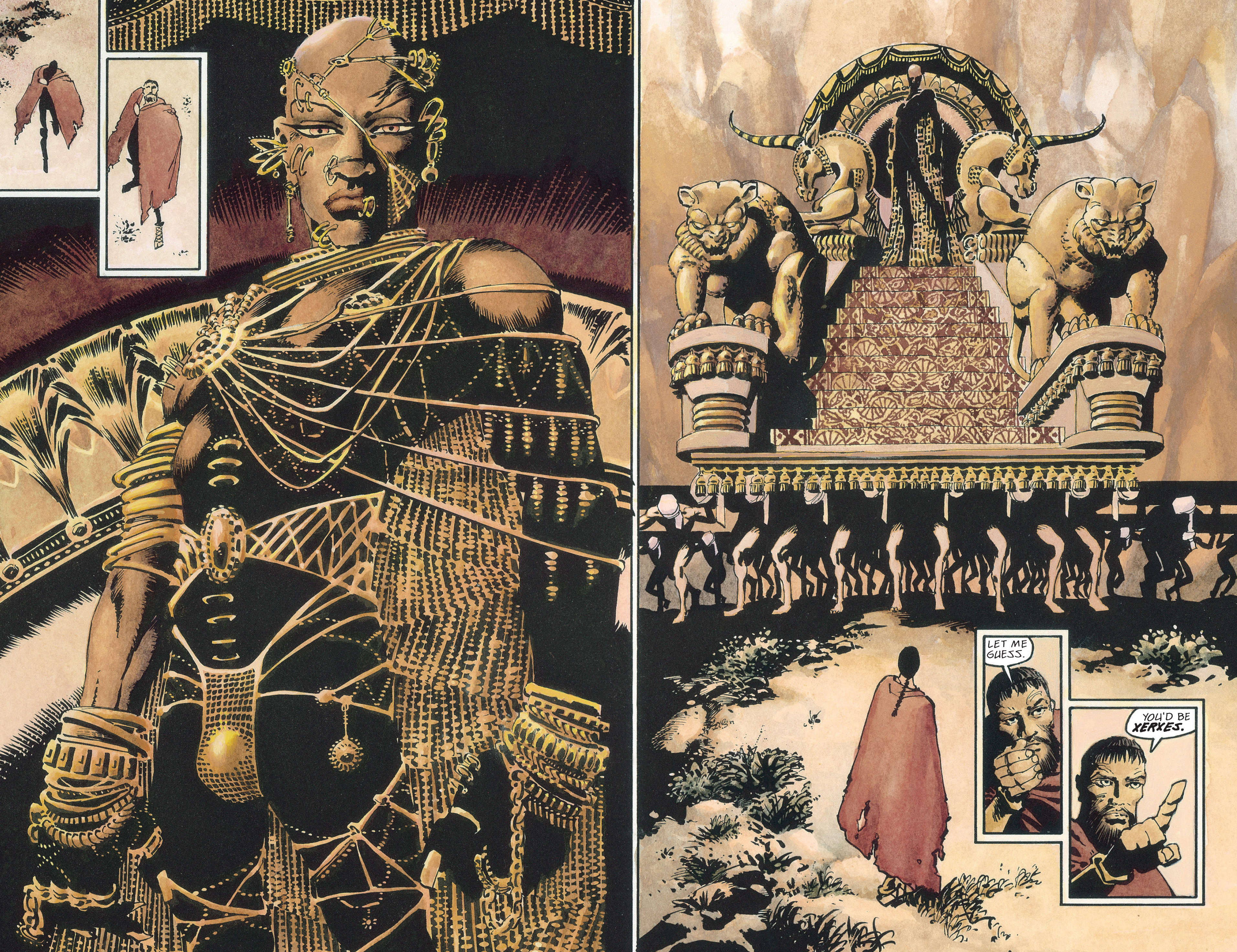 Read online 300 comic -  Issue #300 TPB - 55