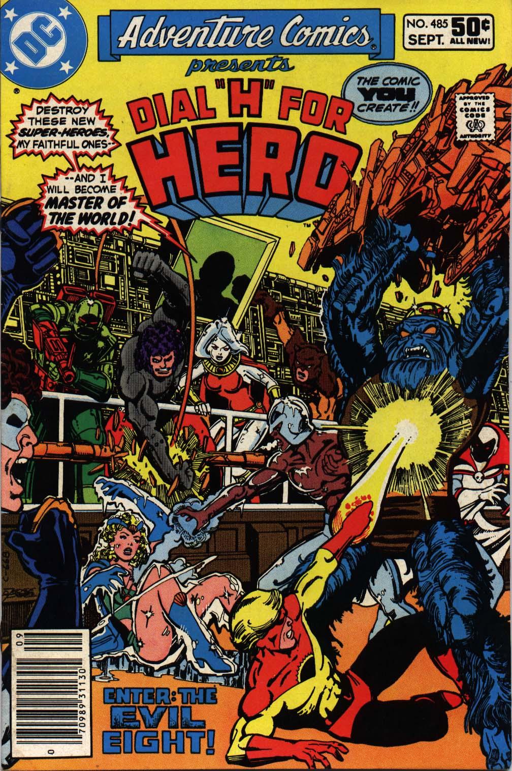 Read online Adventure Comics (1938) comic -  Issue #485 - 1