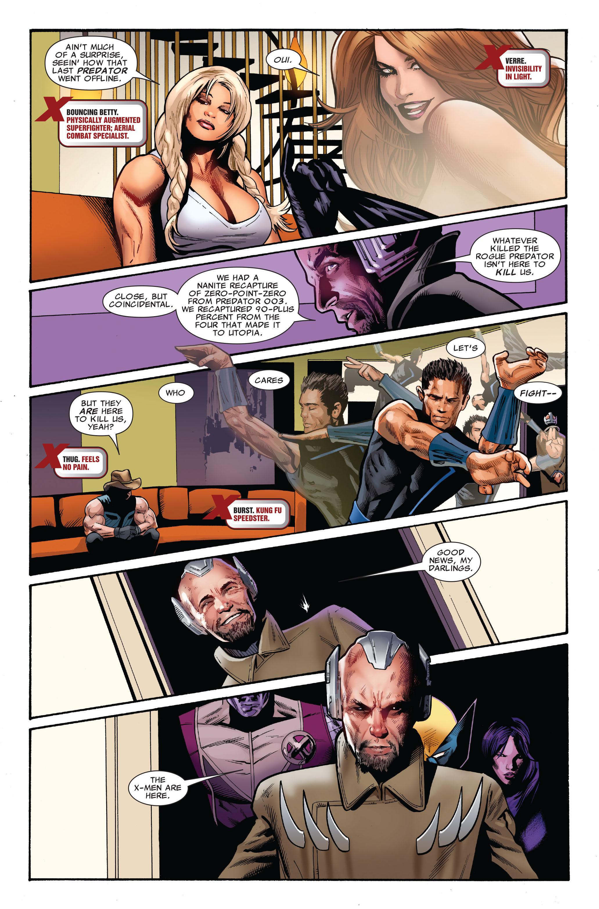 Read online Uncanny X-Men (1963) comic -  Issue #520 - 21