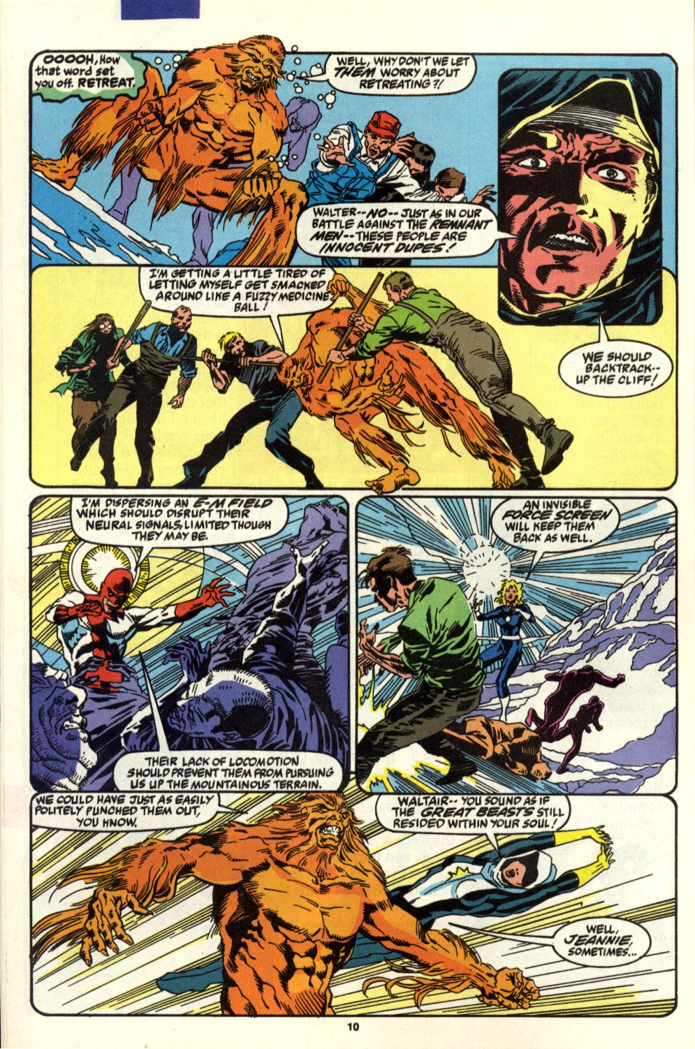 Read online Alpha Flight (1983) comic -  Issue #93 - 8
