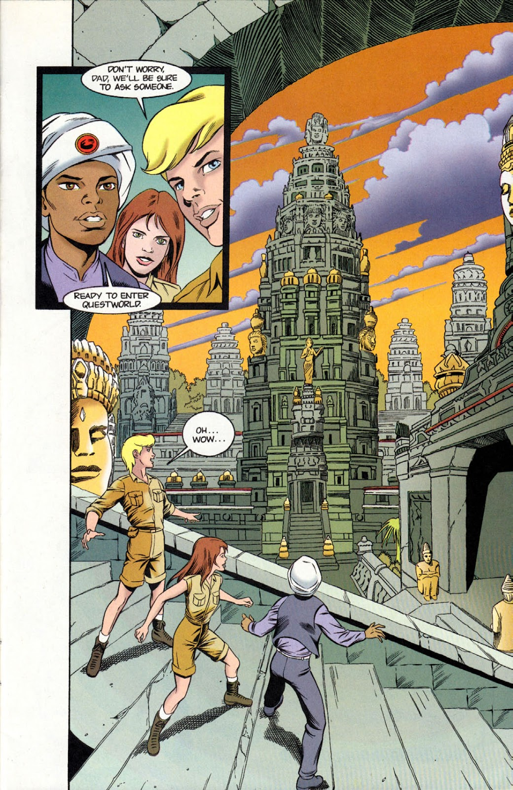 Read online The Real Adventures of Jonny Quest comic -  Issue #11 - 11
