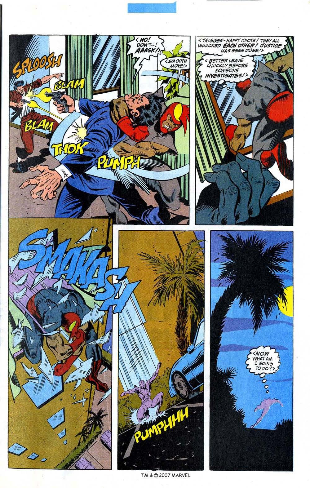 Read online Captain America (1968) comic -  Issue # _Annual 12 - 23