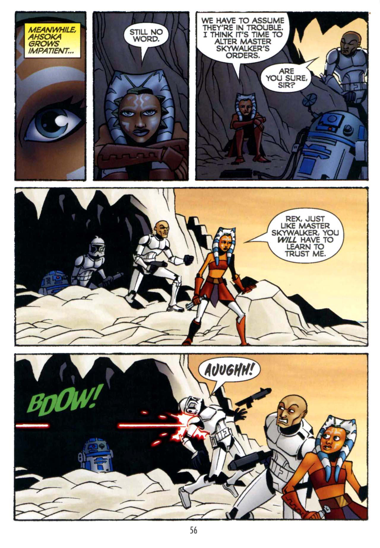 Read online Star Wars: The Clone Wars - Shipyards of Doom comic -  Issue # Full - 54