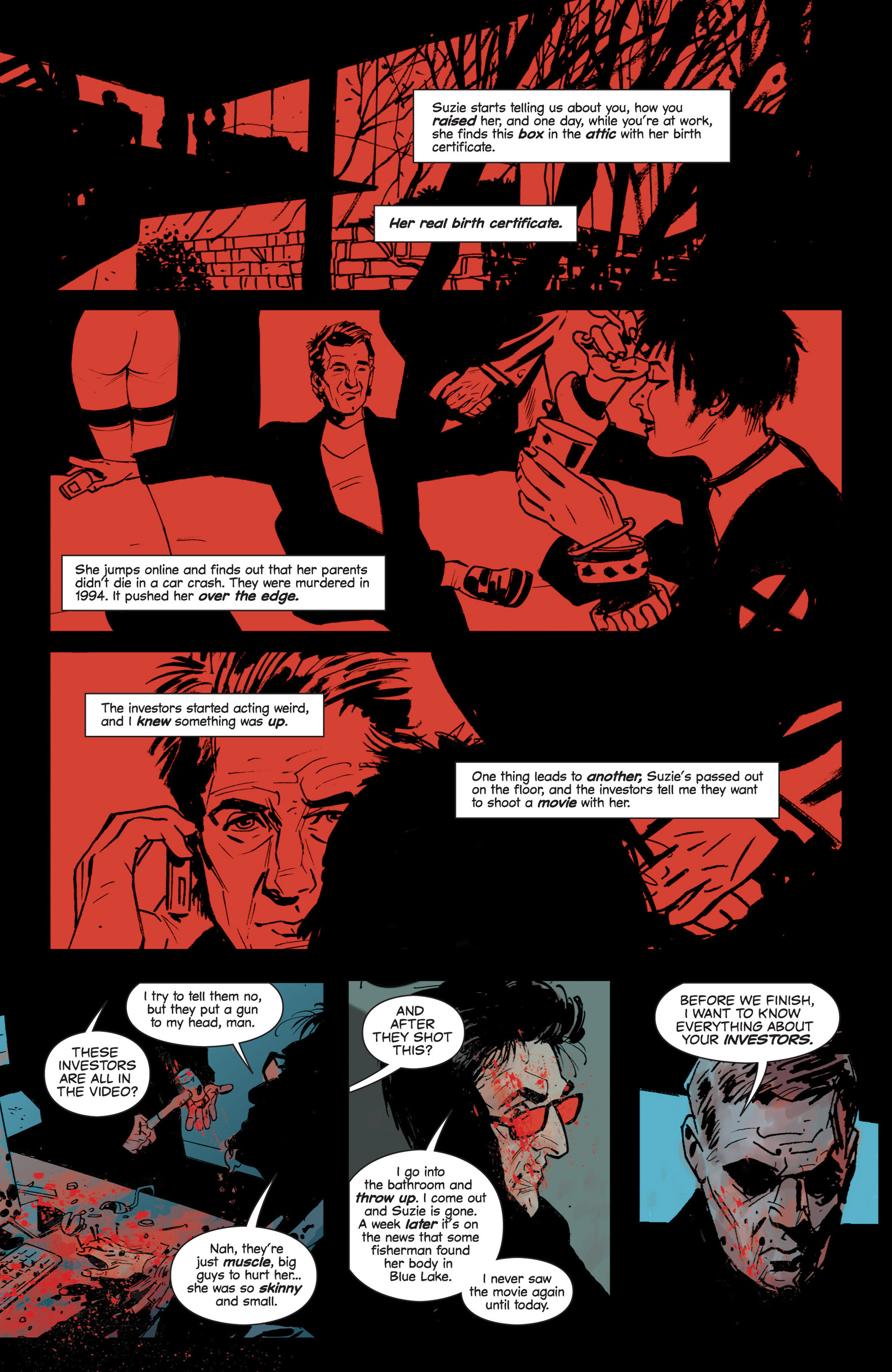 Read online Sex and Violence comic -  Issue # Full - 19