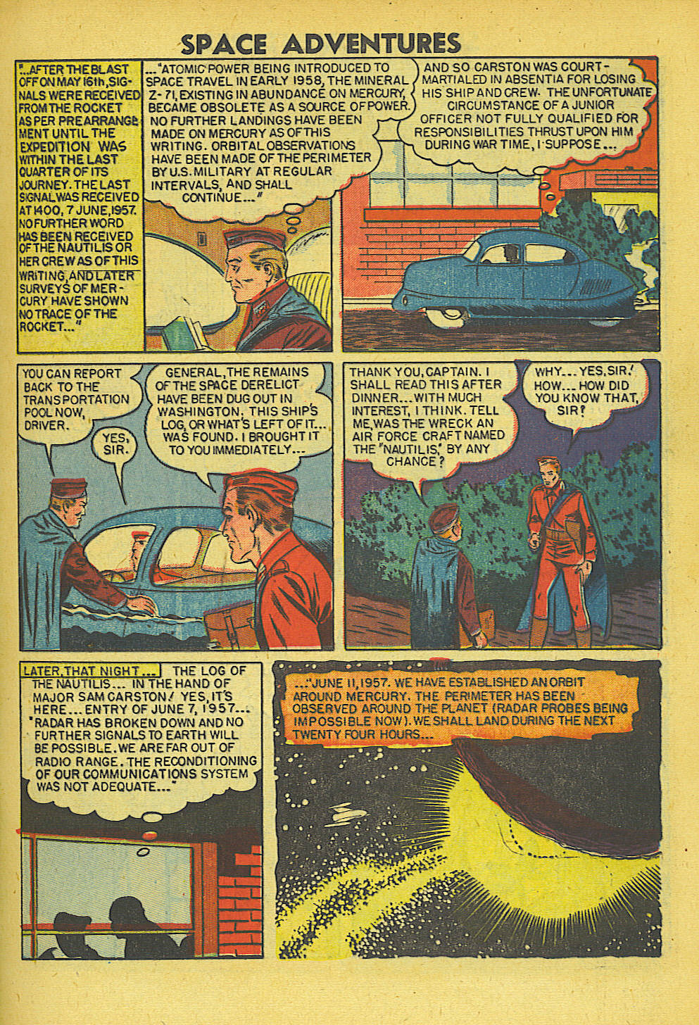 Space Adventures (1952) issue 5 - Page 8