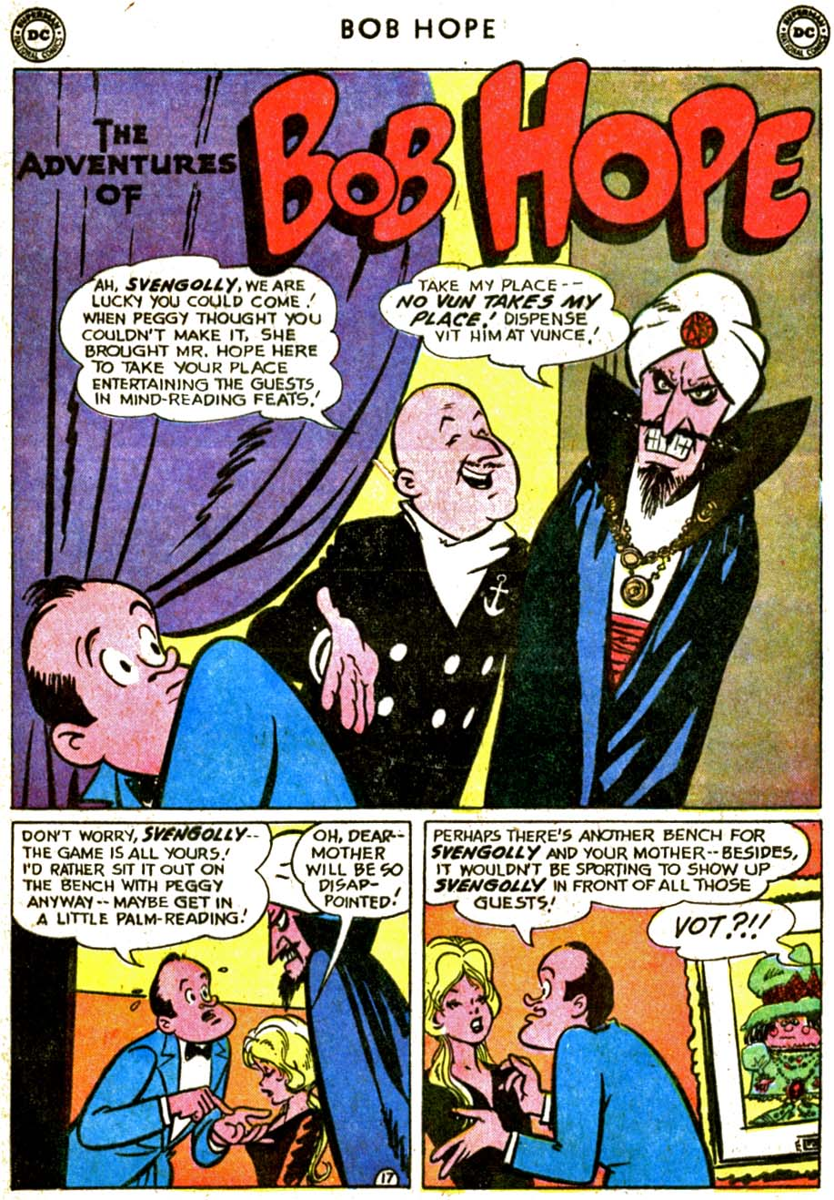 The Adventures of Bob Hope issue 77 - Page 25