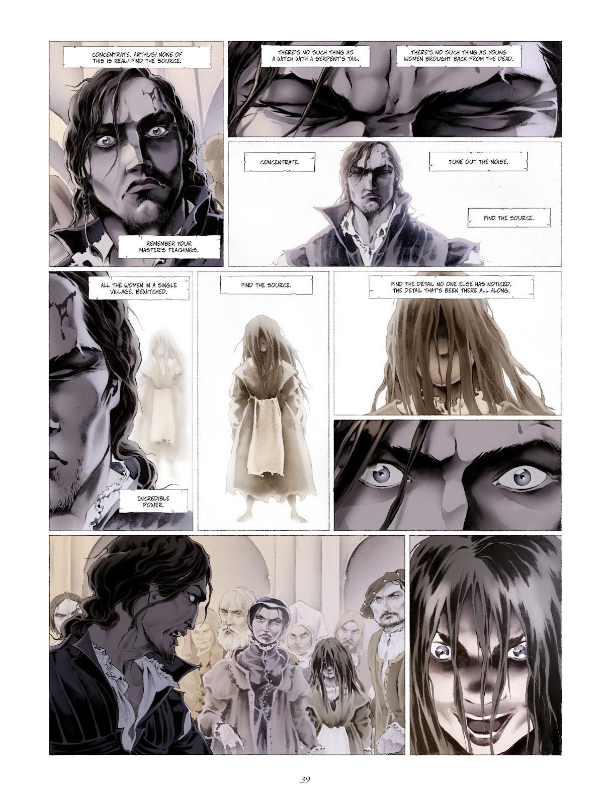 Read online Arthus Trivium comic -  Issue #4 - 41