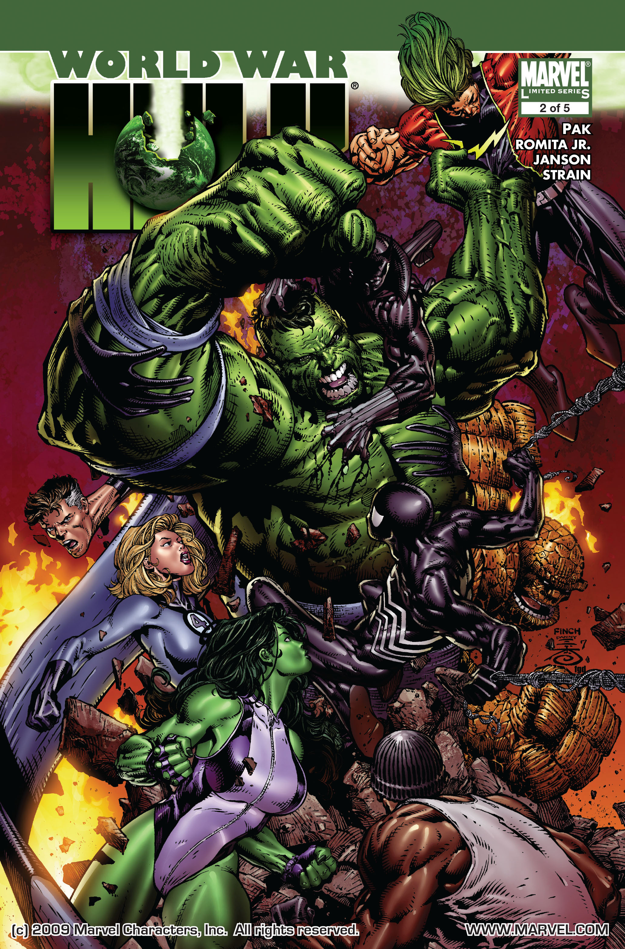 World War Hulk issue 2 - Page 1