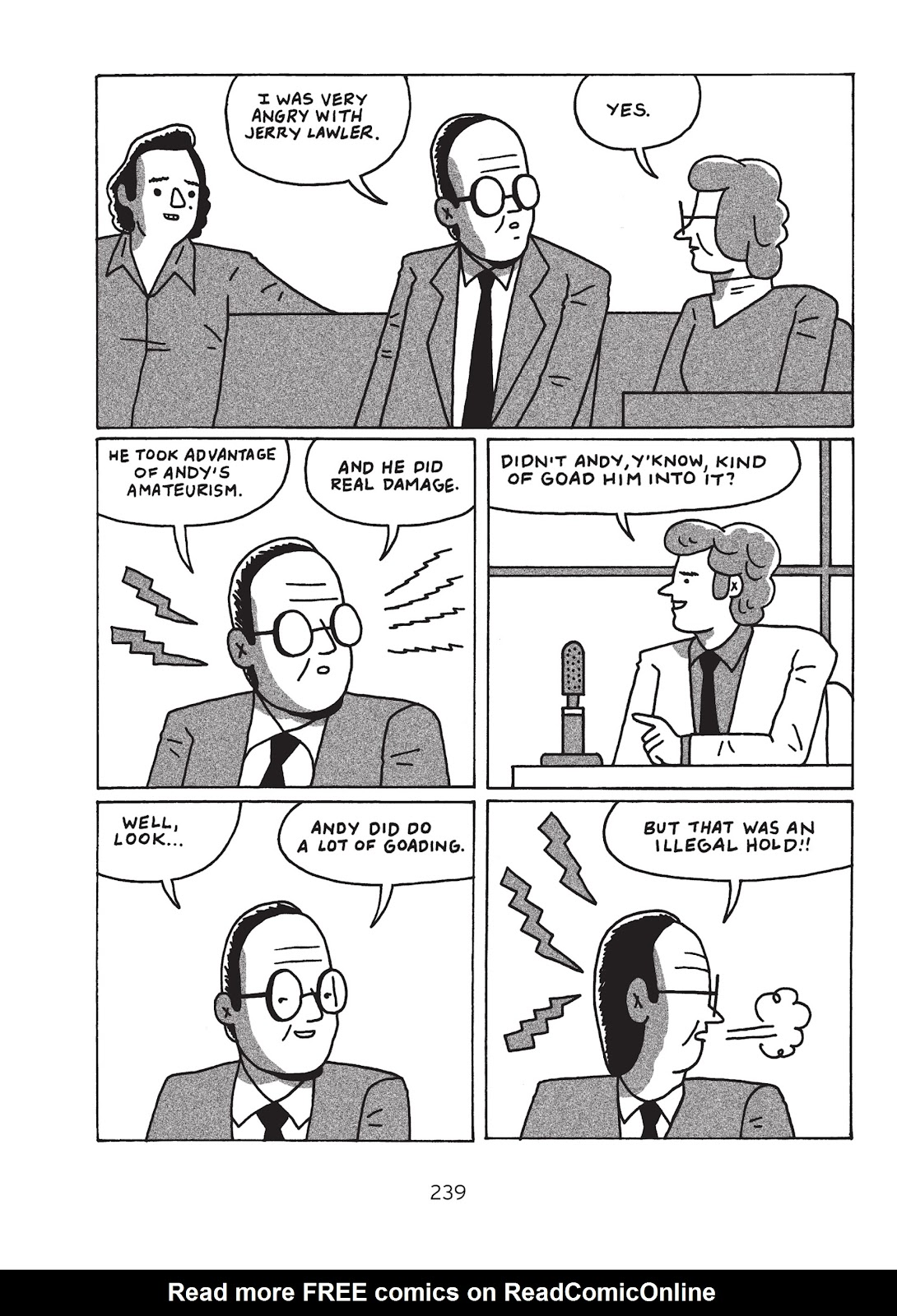 Read online Is This Guy For Real?: The Unbelievable Andy Kaufman comic -  Issue # TPB (Part 3) - 44
