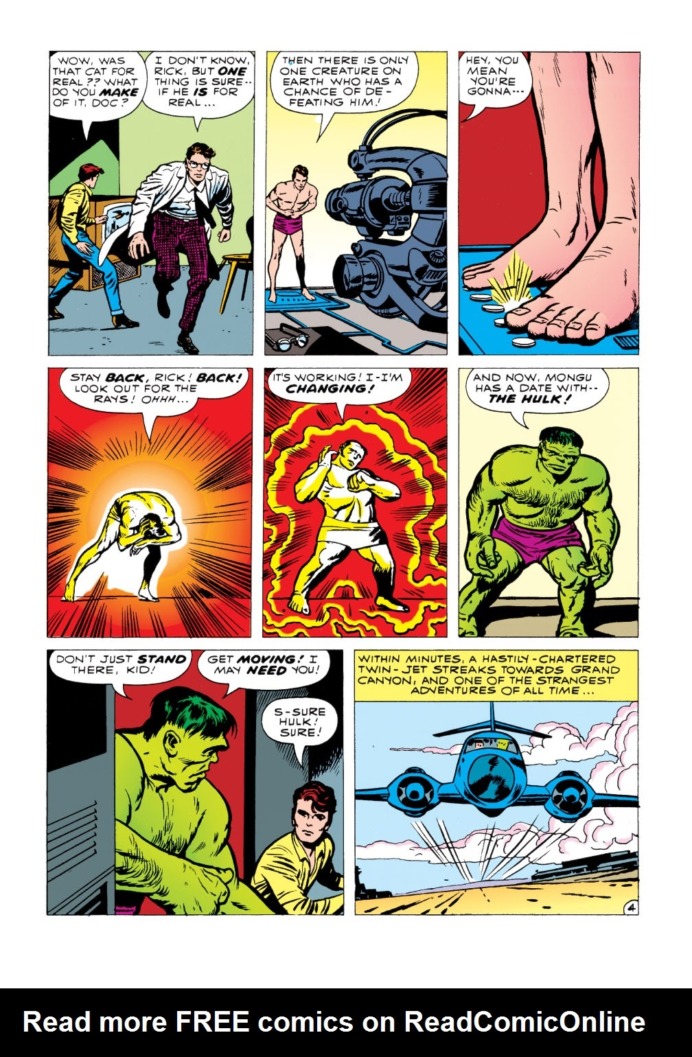 Read online Marvel Masterworks: The Incredible Hulk comic -  Issue # TPB 1 (Part 1) - 96