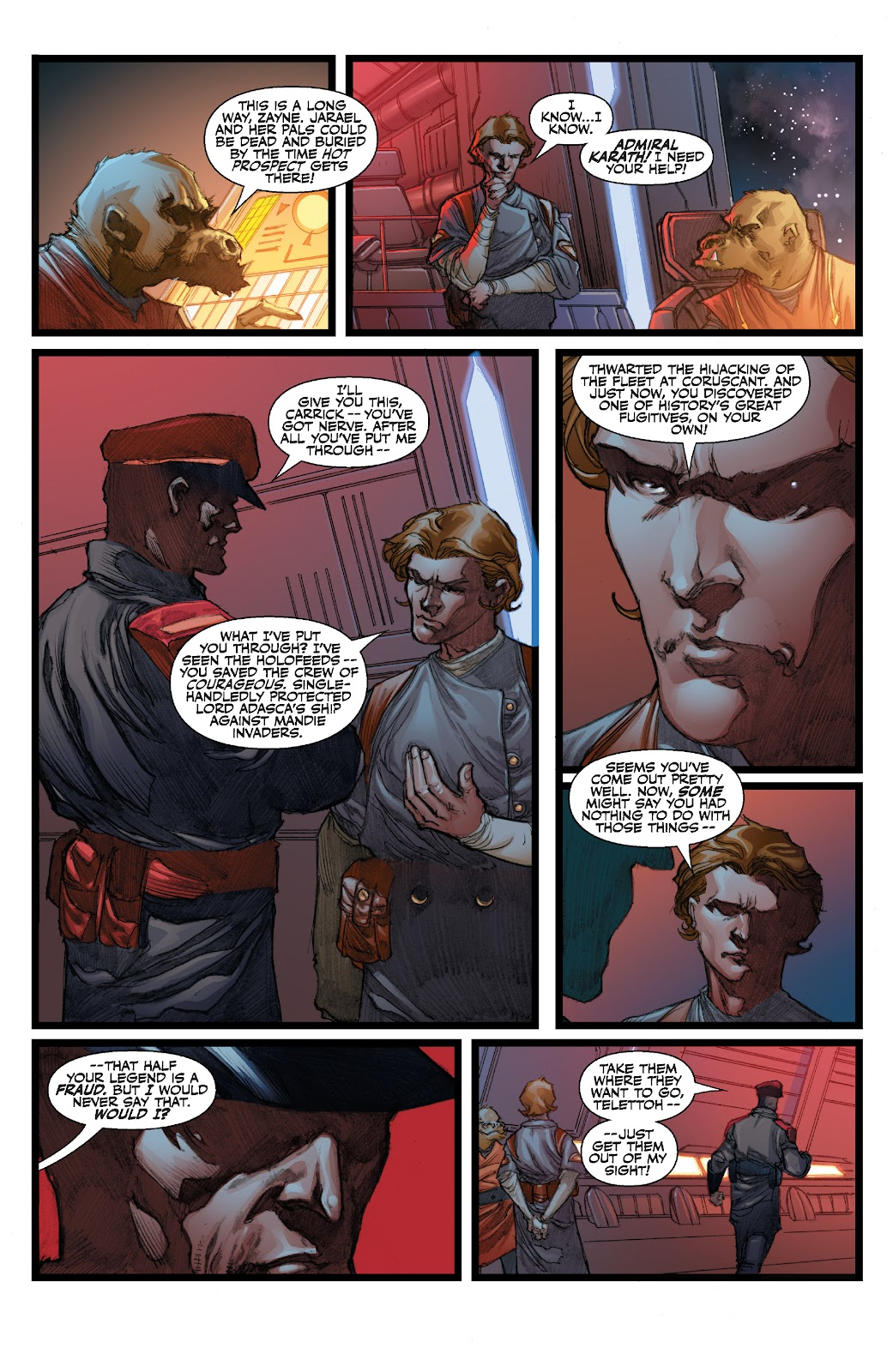 Read online Star Wars Legends: The Old Republic - Epic Collection comic -  Issue # TPB 3 (Part 3) - 64