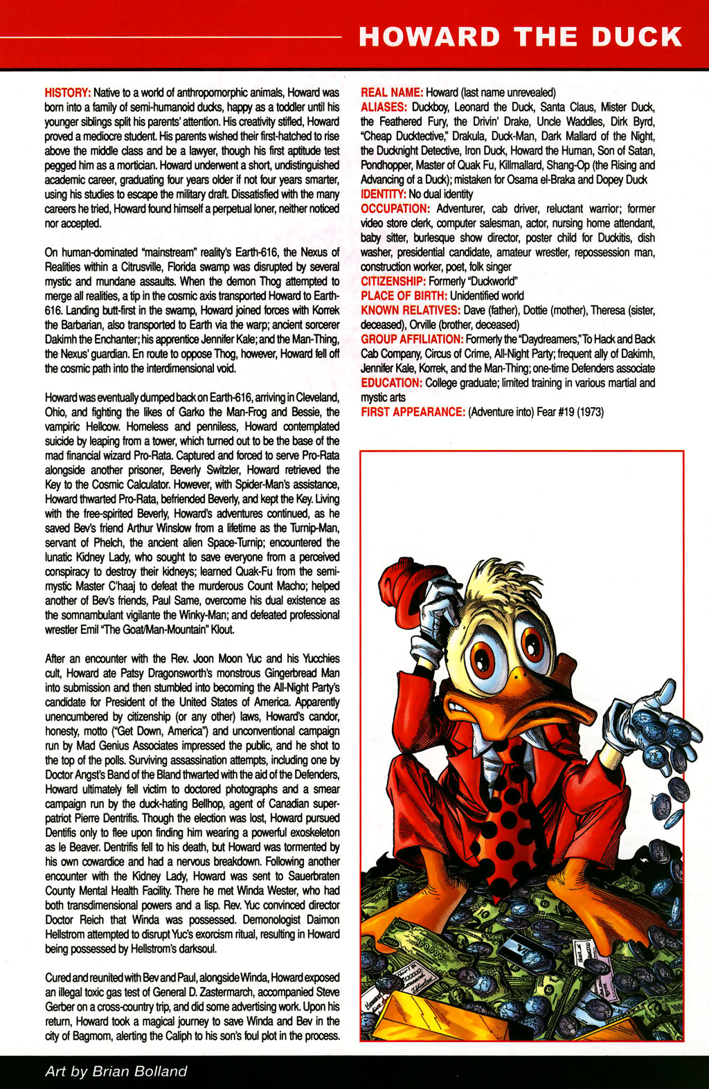 Read online All-New Official Handbook of the Marvel Universe A to Z comic -  Issue #5 - 31
