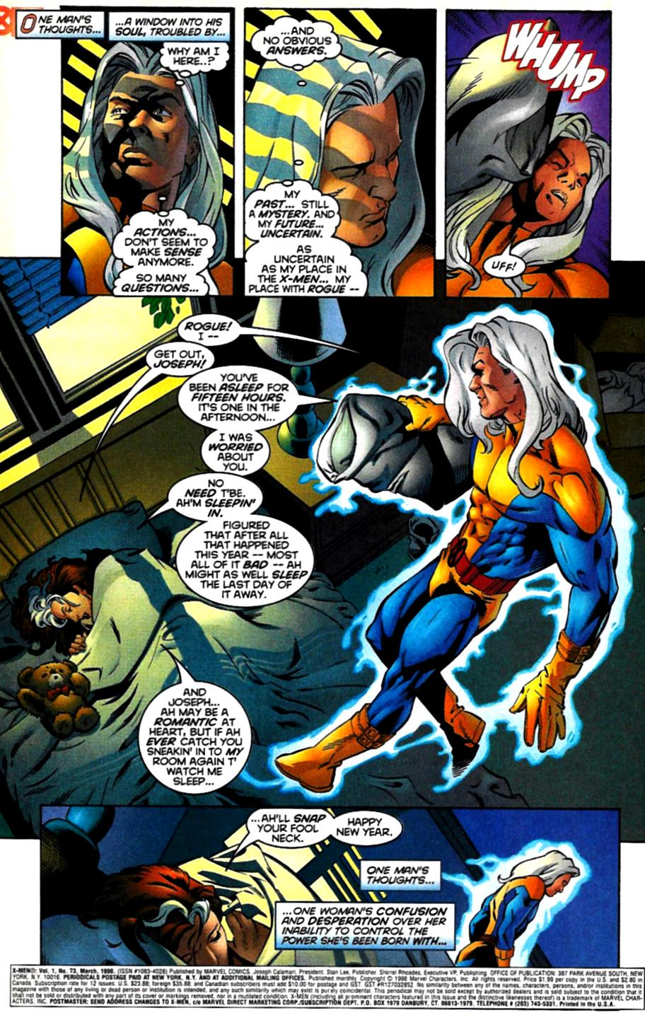 X-Men (1991) 73 Page 1