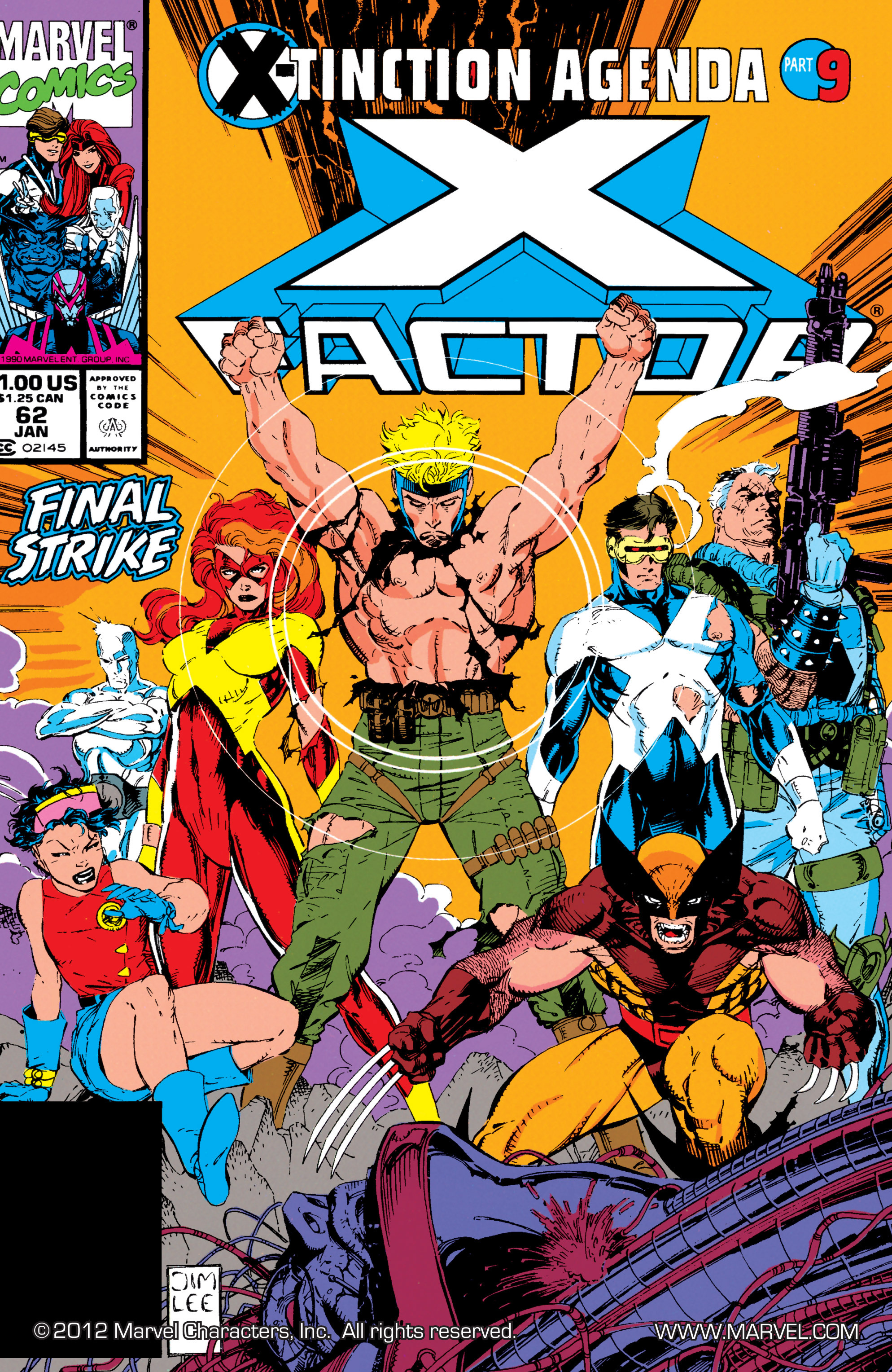 Read online X-Factor (1986) comic -  Issue #62 - 1