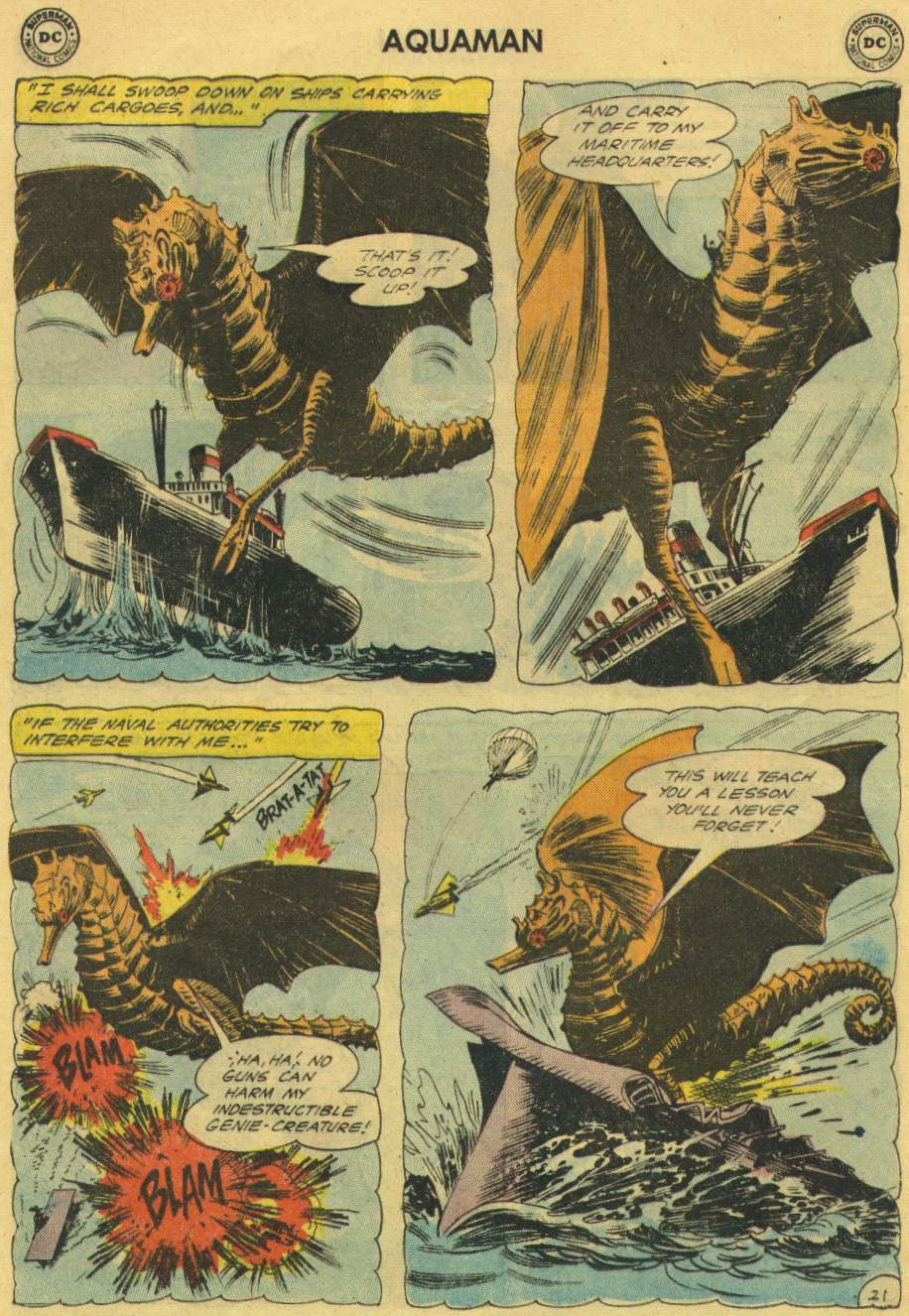 Read online Aquaman (1962) comic -  Issue #2 - 28