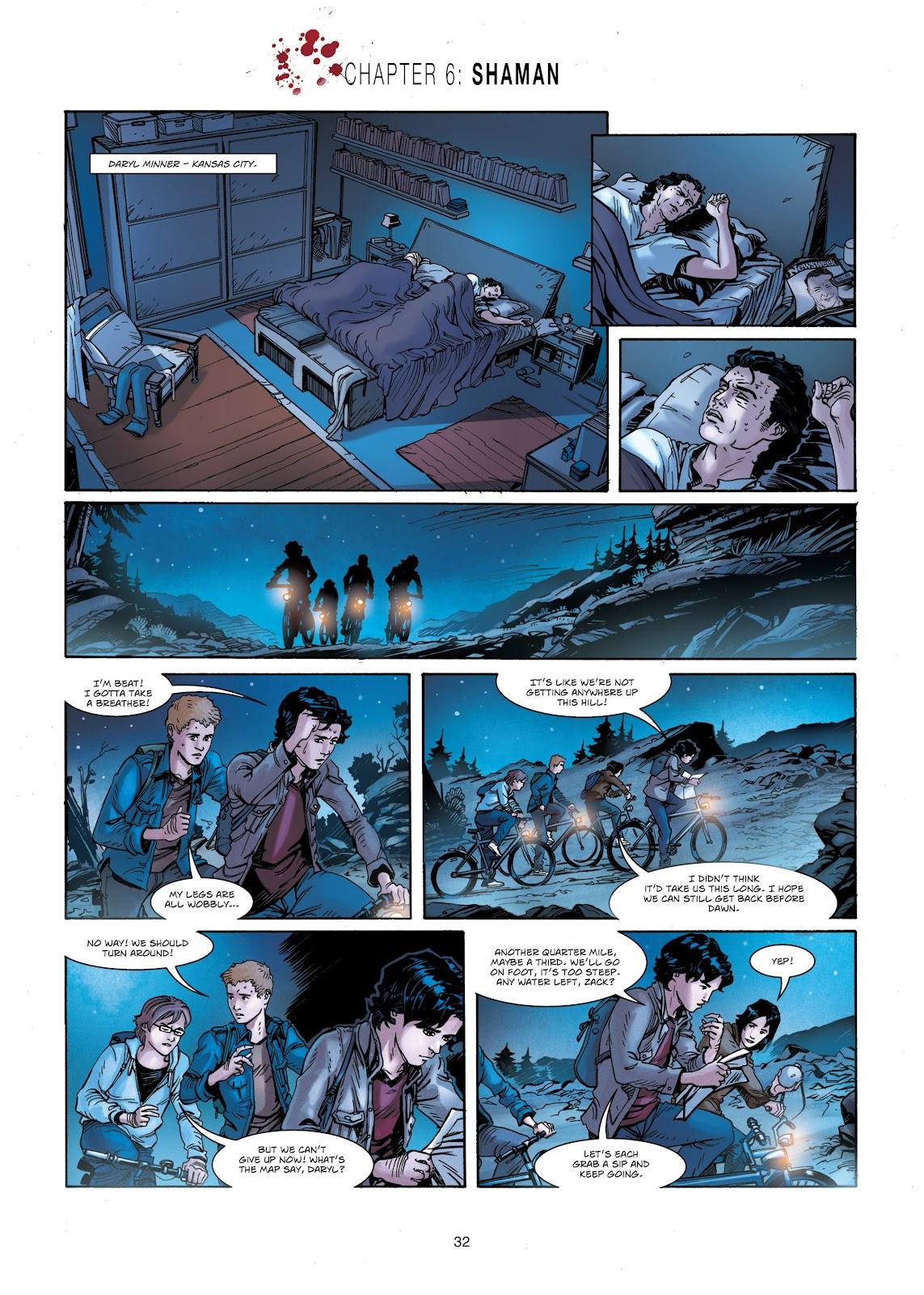 Read online Vigilantes comic -  Issue #1 - 32