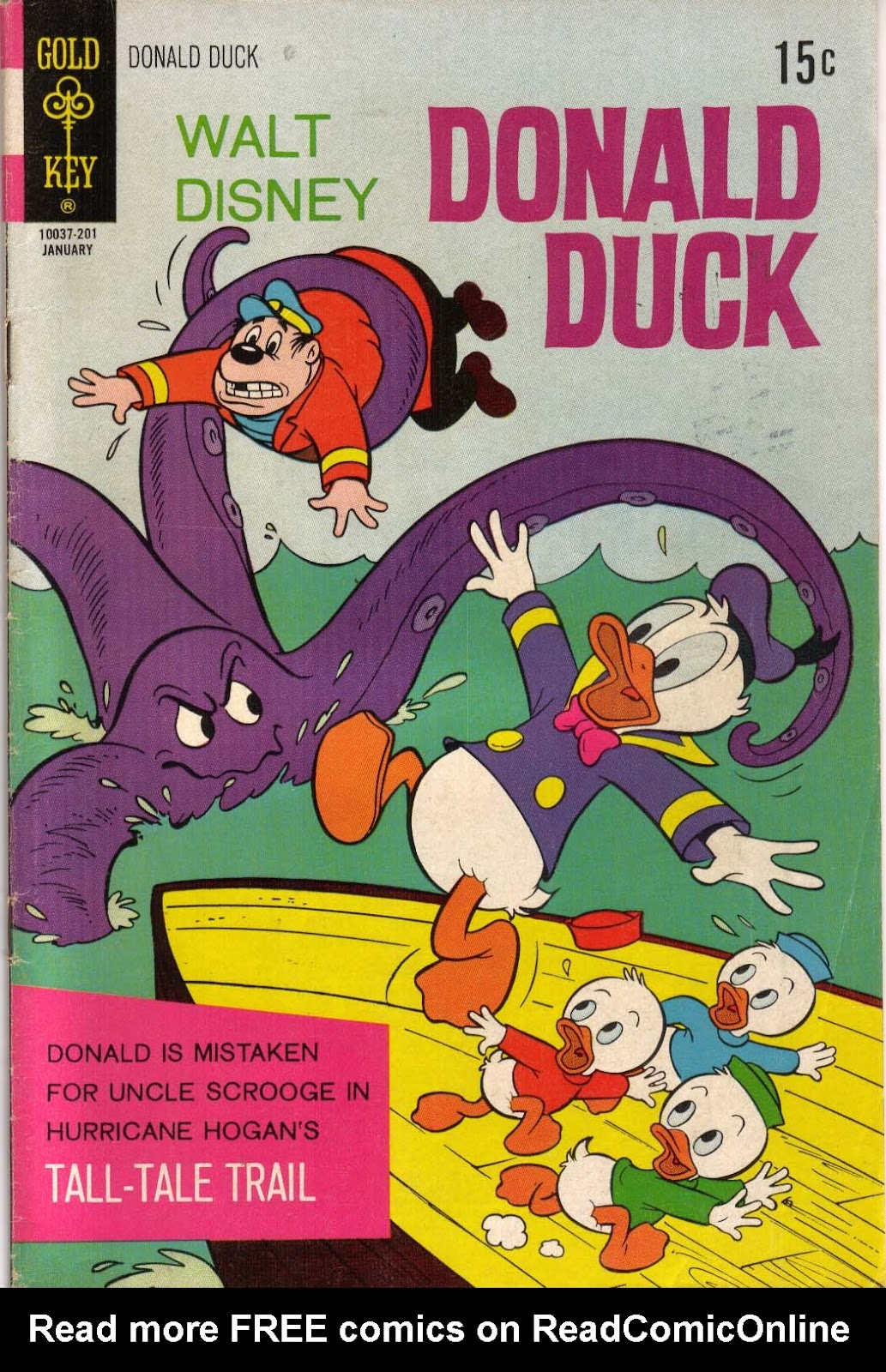 Walt Disney's Donald Duck (1952) issue 141 - Page 1