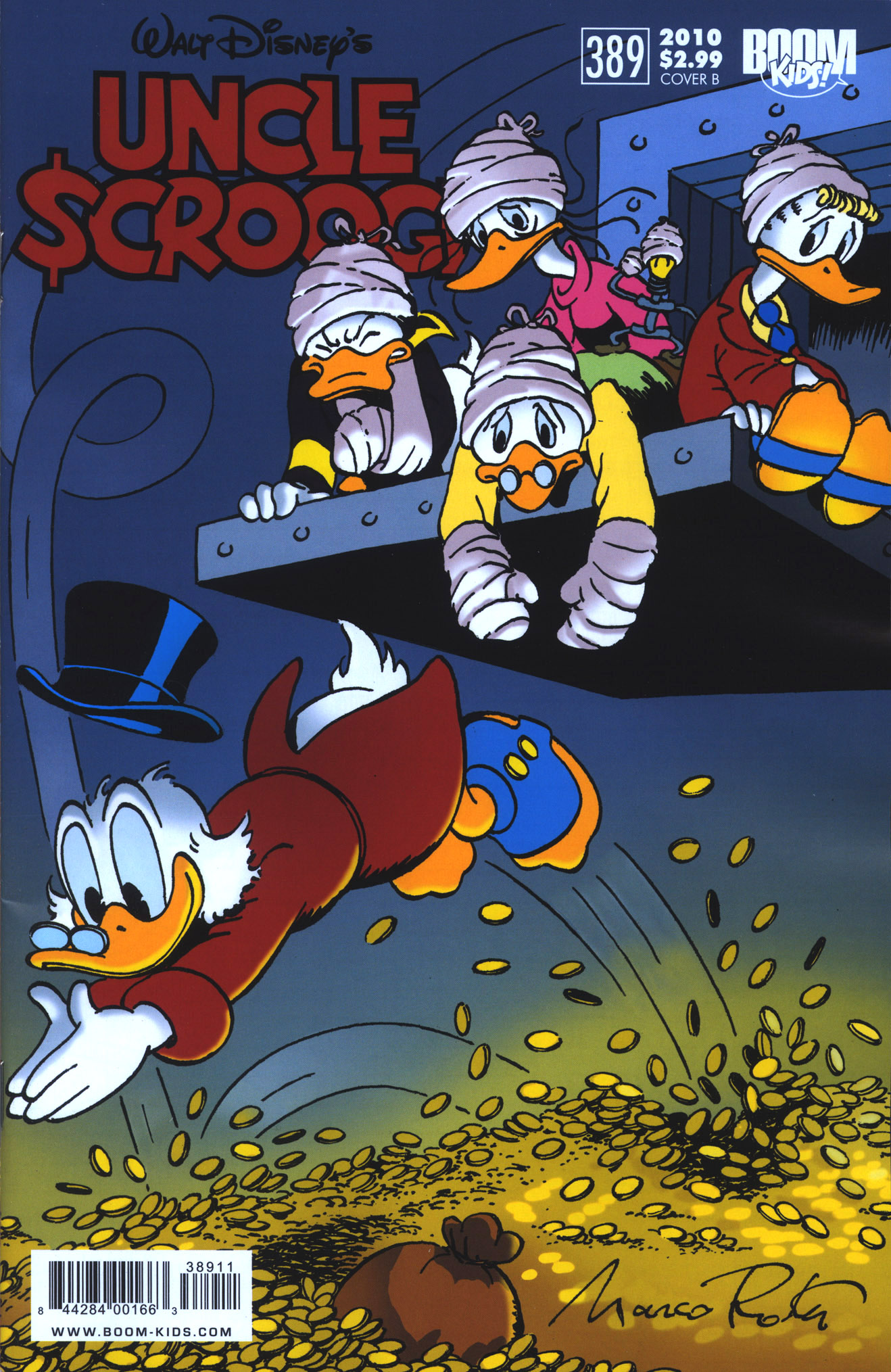 Read online Uncle Scrooge (1953) comic -  Issue #389 - 2