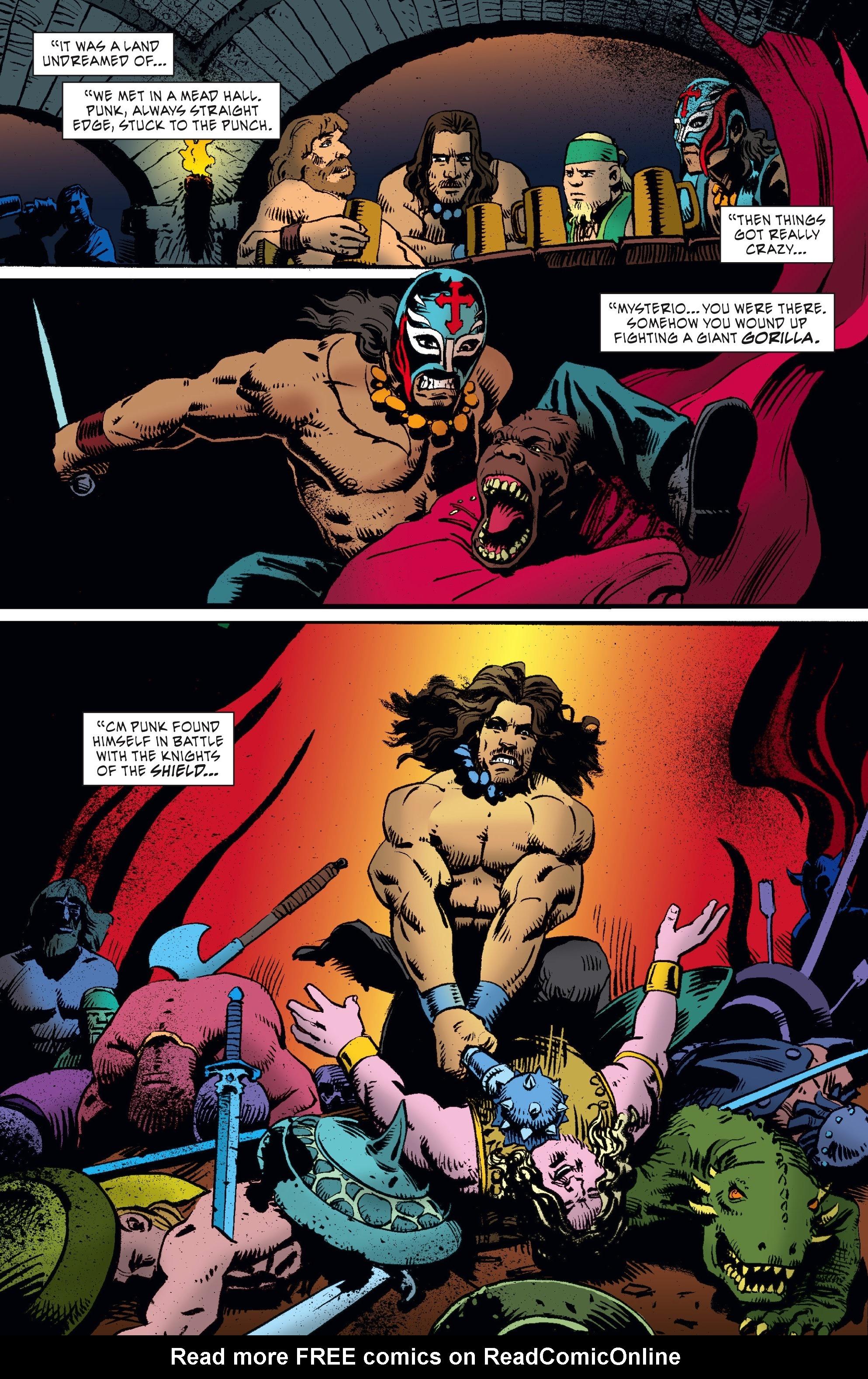 Read online WWE Superstars comic -  Issue #5 - 16