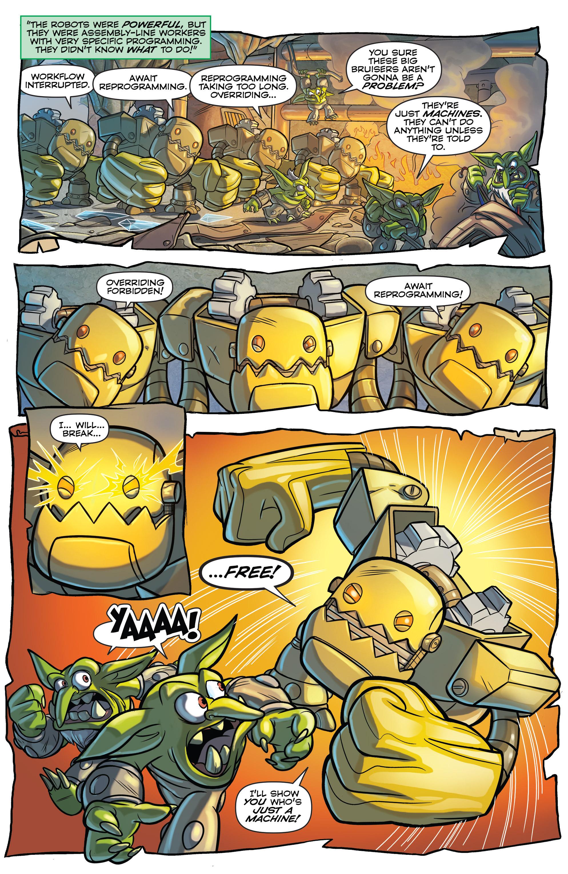 Read online Skylanders comic -  Issue #6 - 6