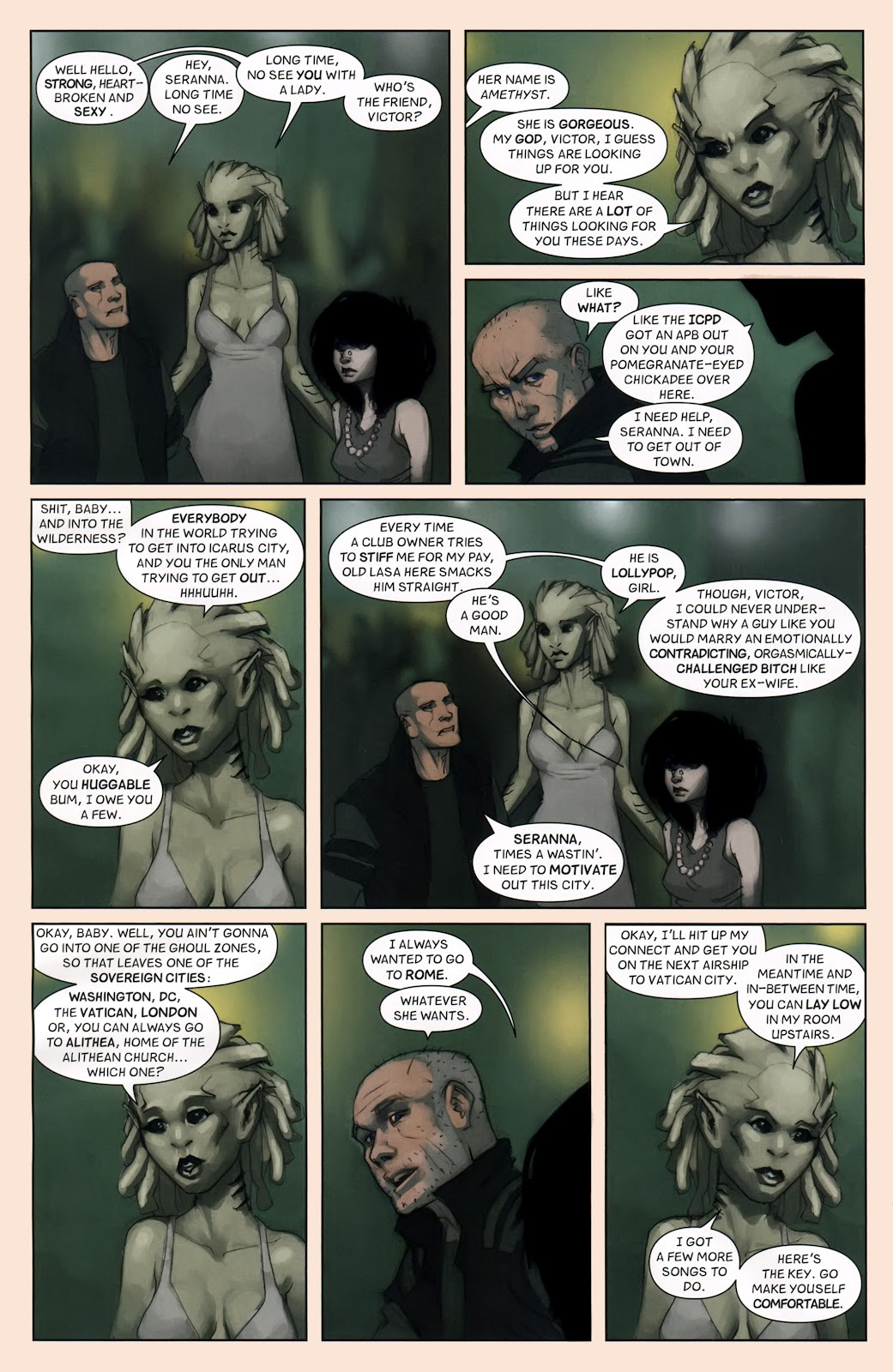 Read online Vescell comic -  Issue #7 - 14