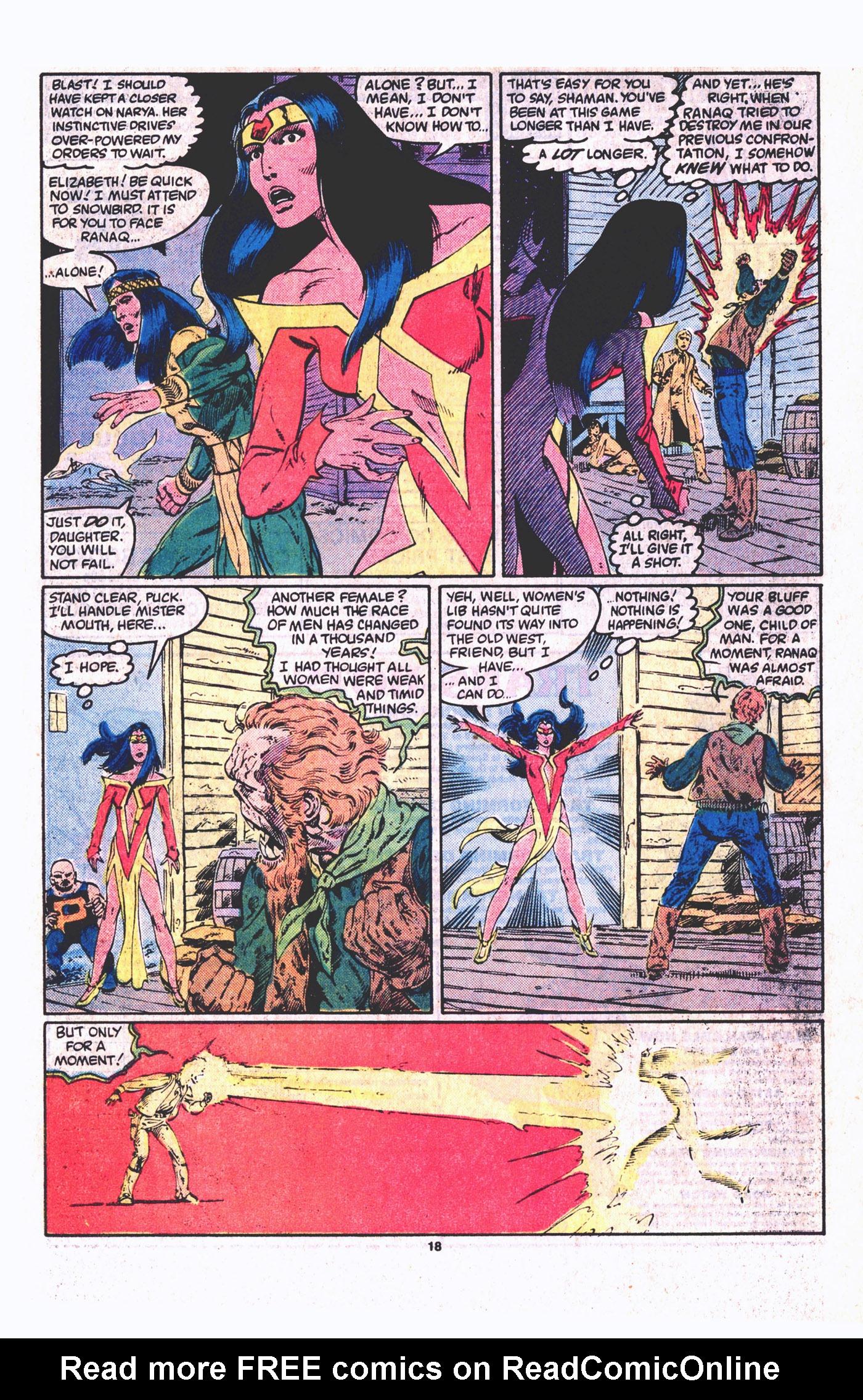 Read online Alpha Flight (1983) comic -  Issue #19 - 19
