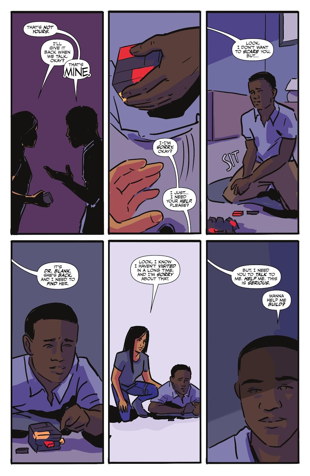 Read online Black (AF): Devil's Dye comic -  Issue #3 - 7