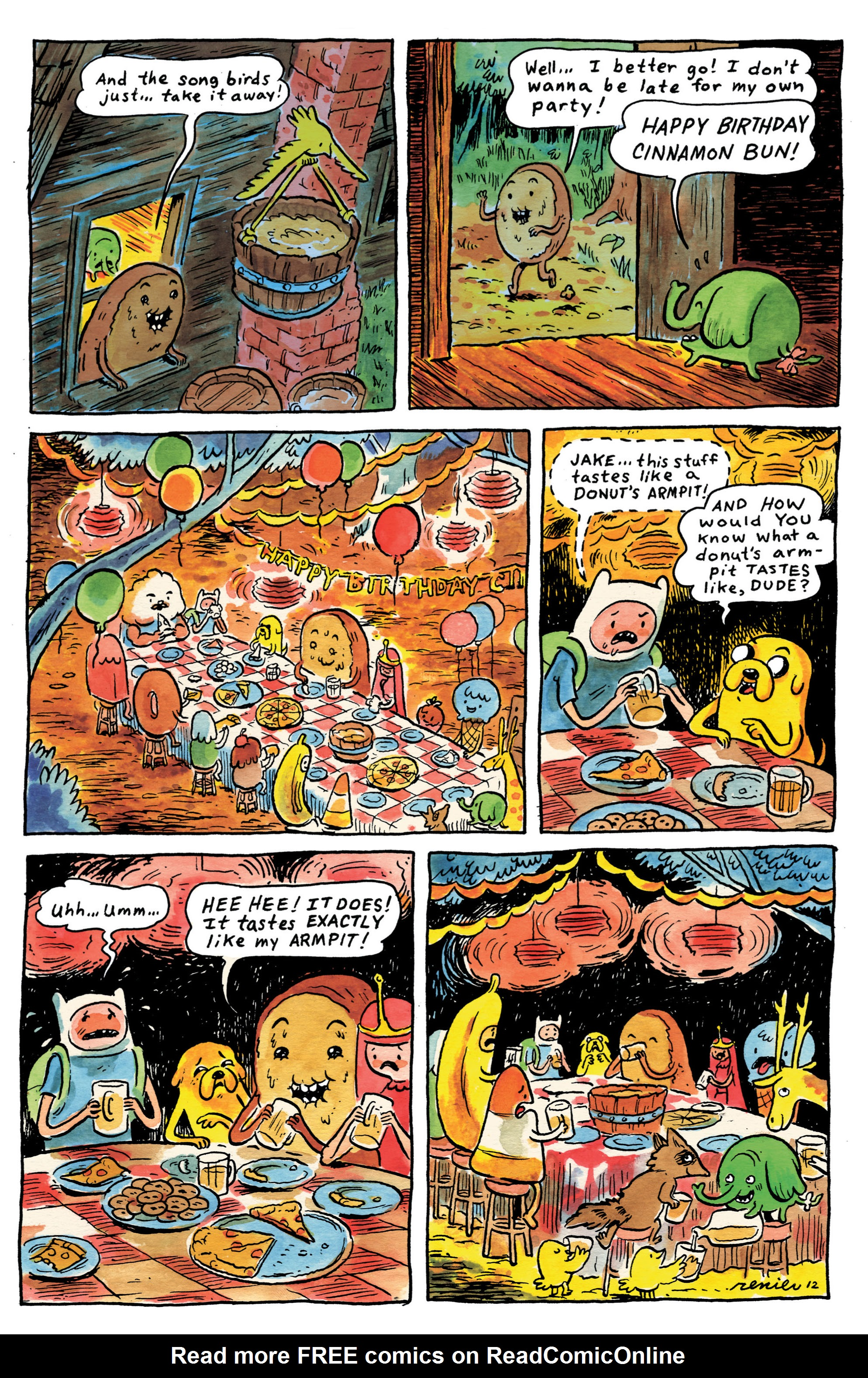 Read online Adventure Time comic -  Issue #1 - 28