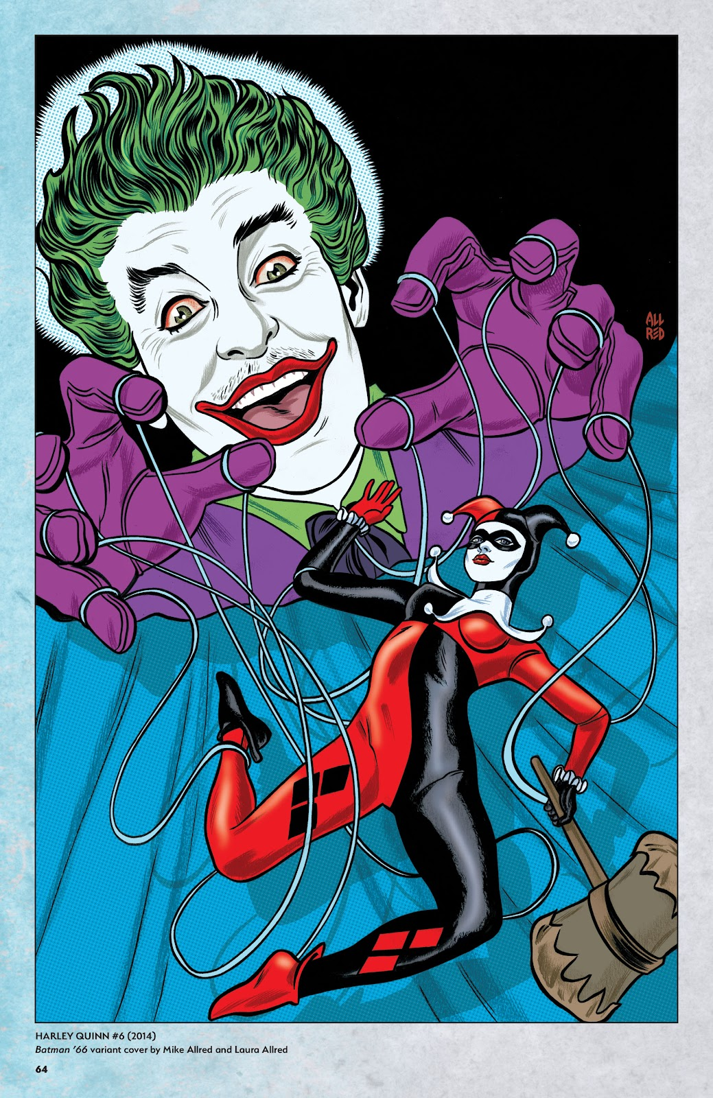 Read online Harley Quinn: A Rogue's Gallery―The Deluxe Cover Art Collection comic -  Issue # TPB (Part 1) - 62