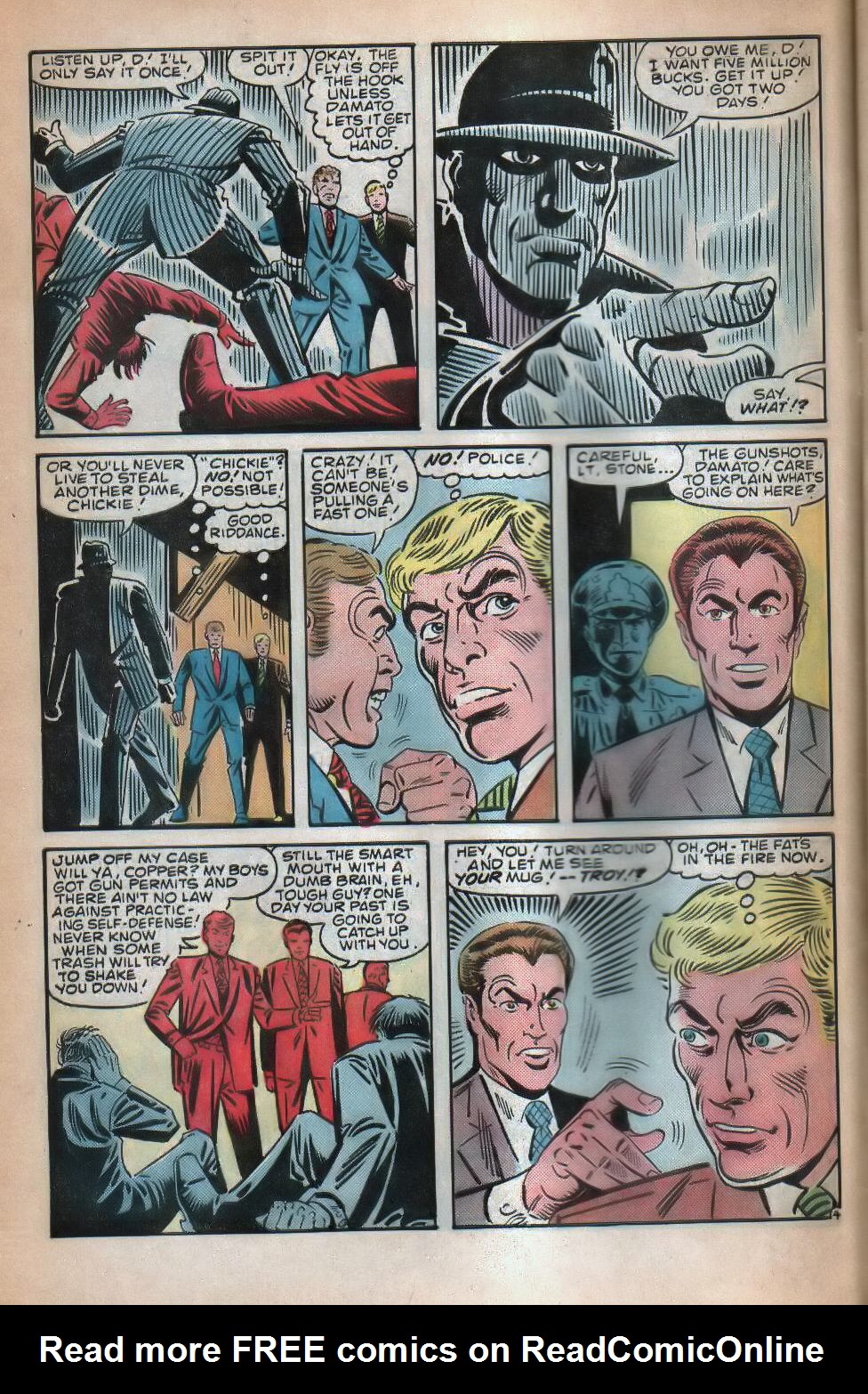Read online The Fly (1983) comic -  Issue #8 - 5
