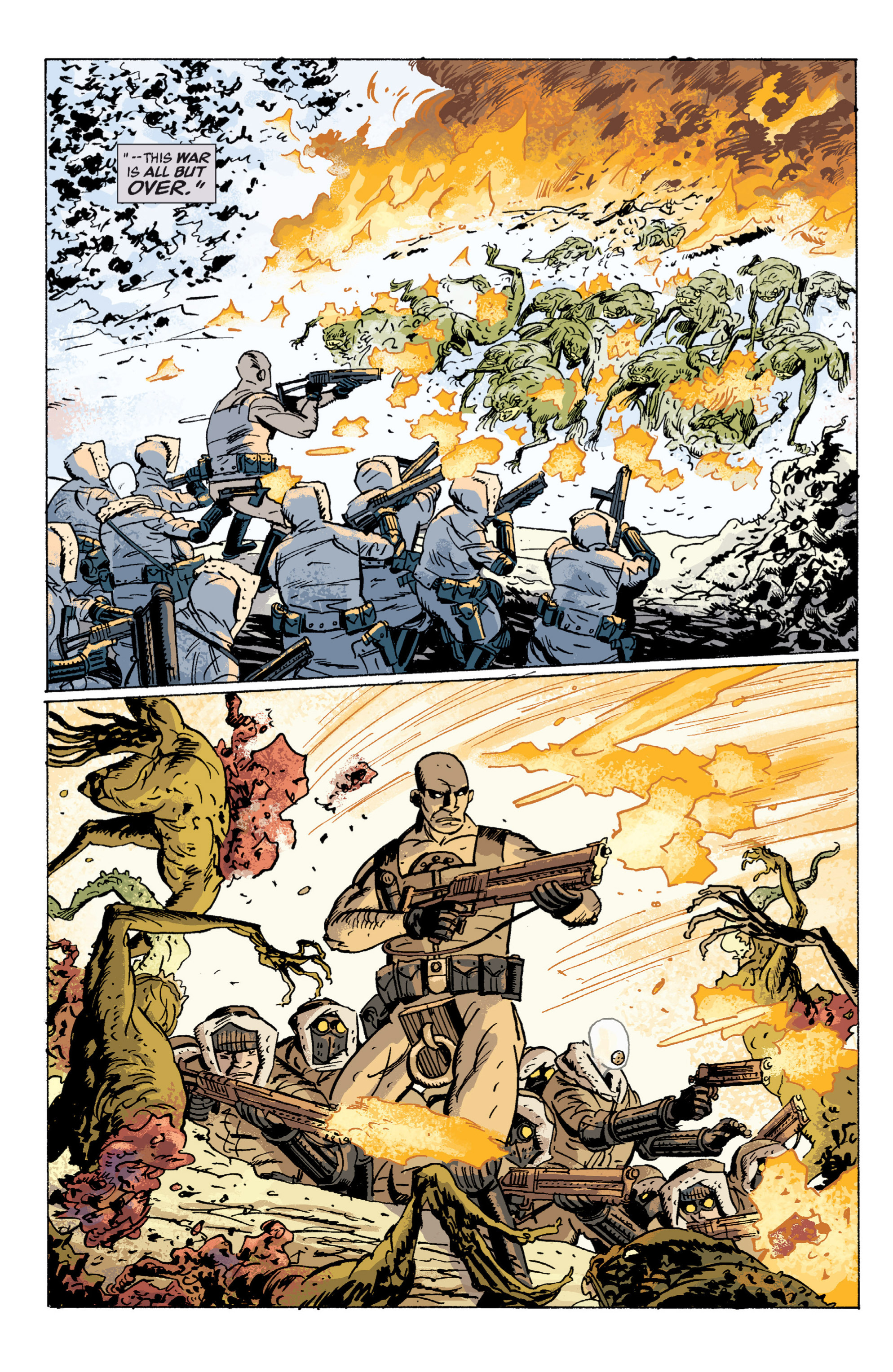Read online B.P.R.D. (2003) comic -  Issue # TPB 5 - 47